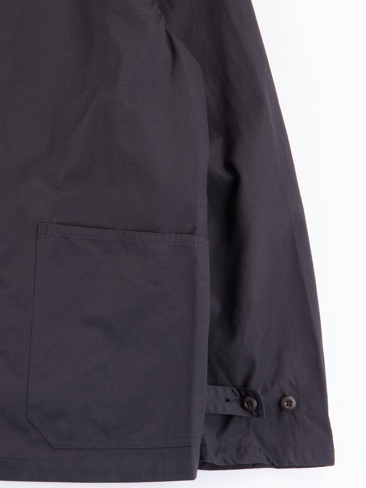 Fade Black Utility Coverall Jacket - Image 3