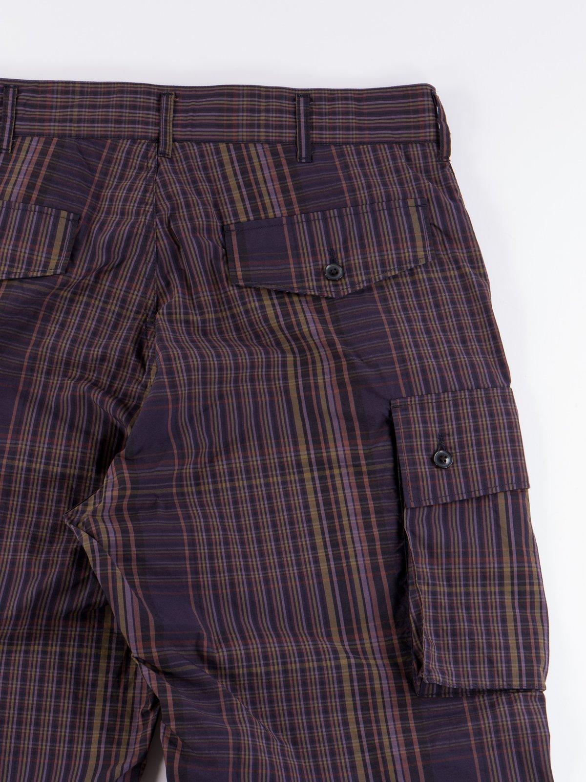 Multi Color Nyco Plaid FA Pant - Image 7