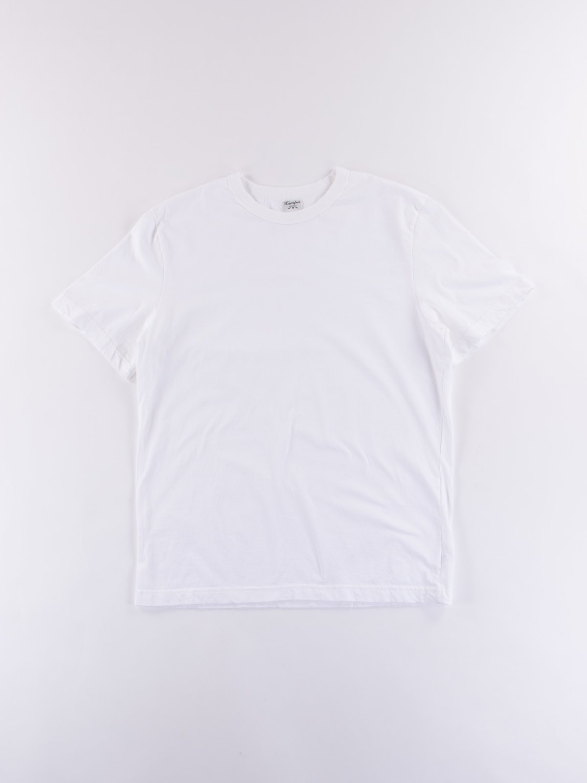 White Dad's Plain Tee - Image 1