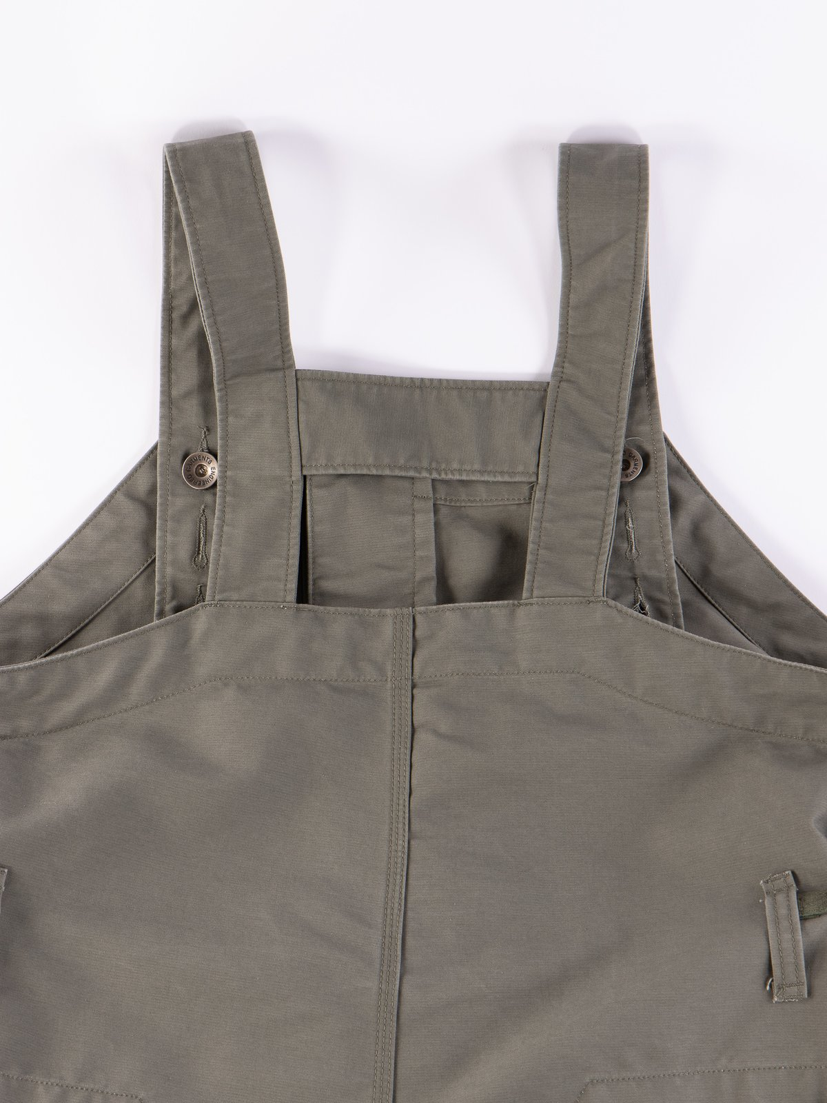 Olive Cotton Double Cloth Waders - Image 7