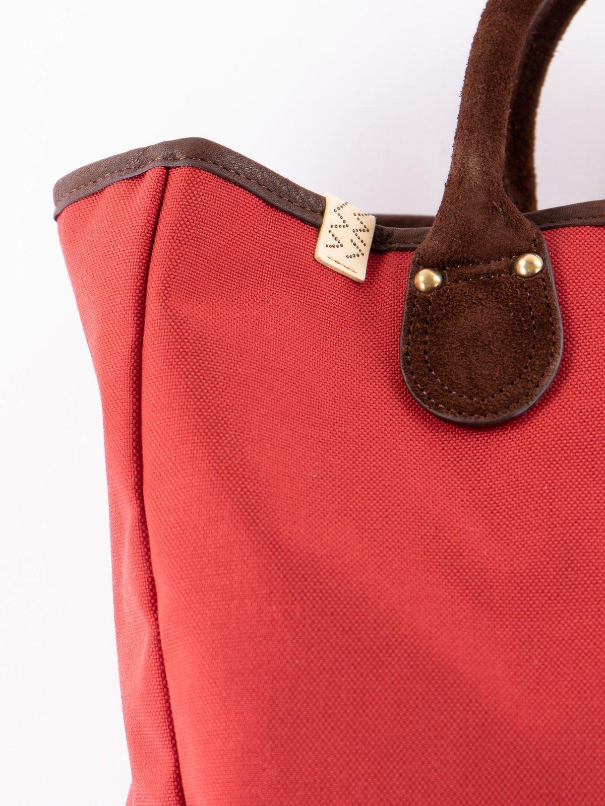 Red Cordura Daytripper Tote - Image 2