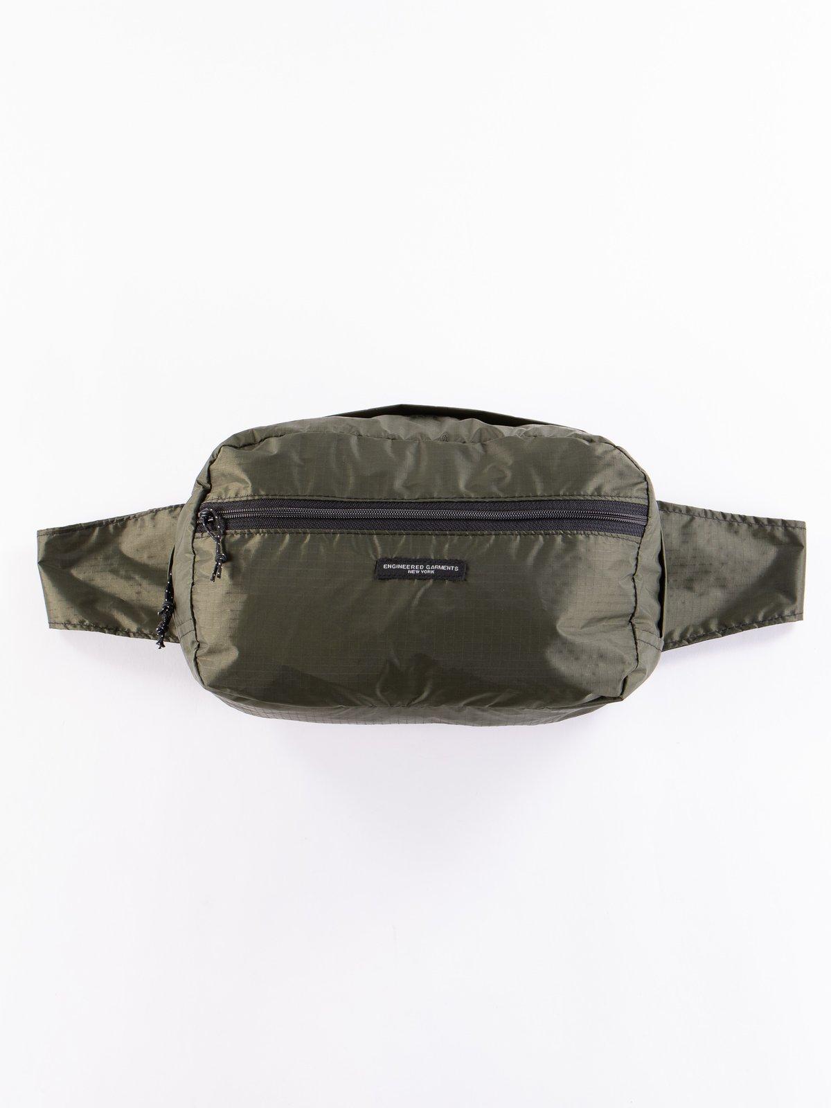 Olive Nylon Ripstop UL Waistpack - Image 1
