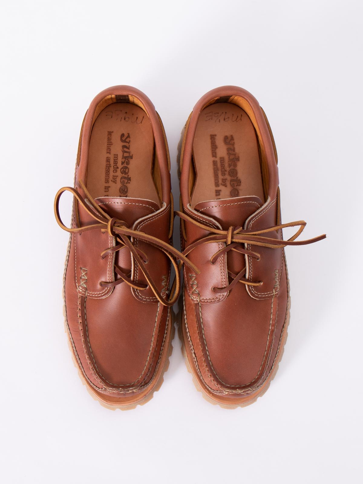 C WHISKEY DB BOAT SHOE W/ LUG SOLE EXCLUSIVE - Image 6