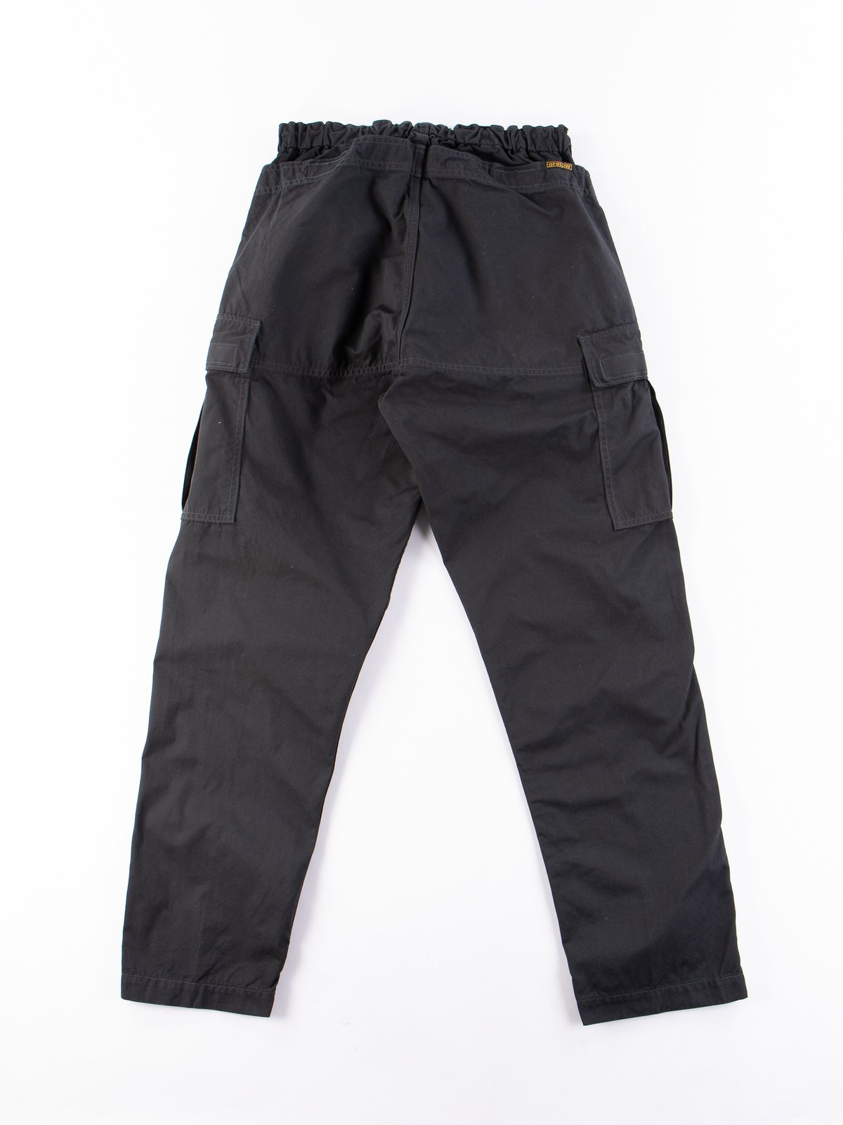 Grey Weather Cloth Easy Cargo Pant - Image 9