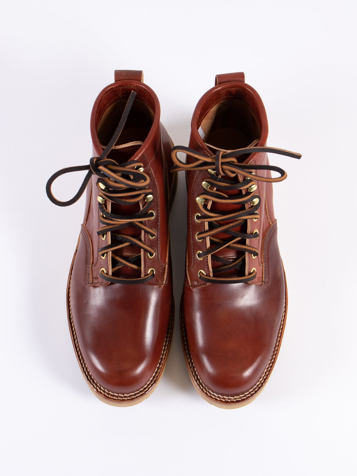 Garnet Shell Cordovan Scout Boot - Image 7