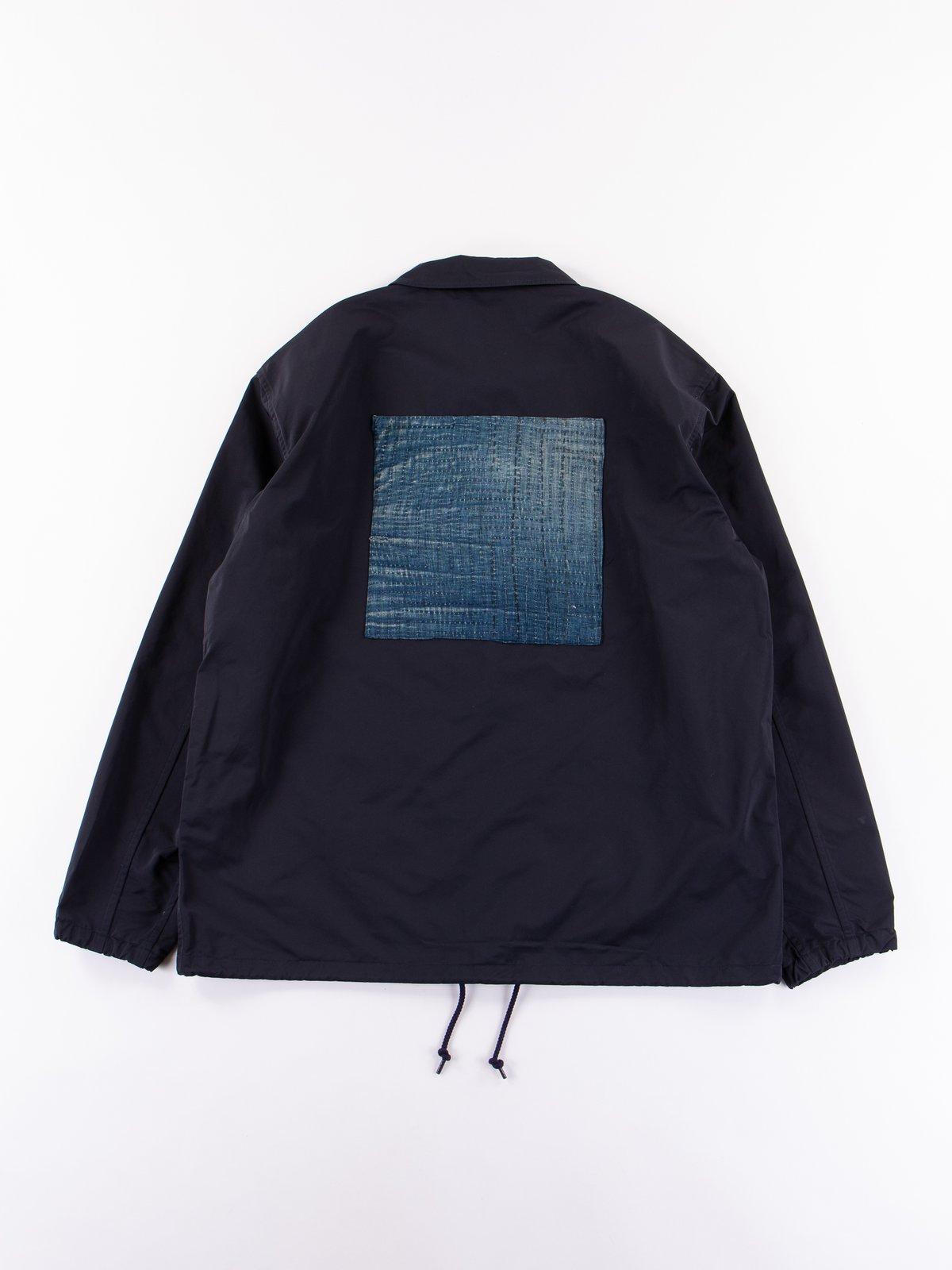 Navy Coach Jacket - Image 6