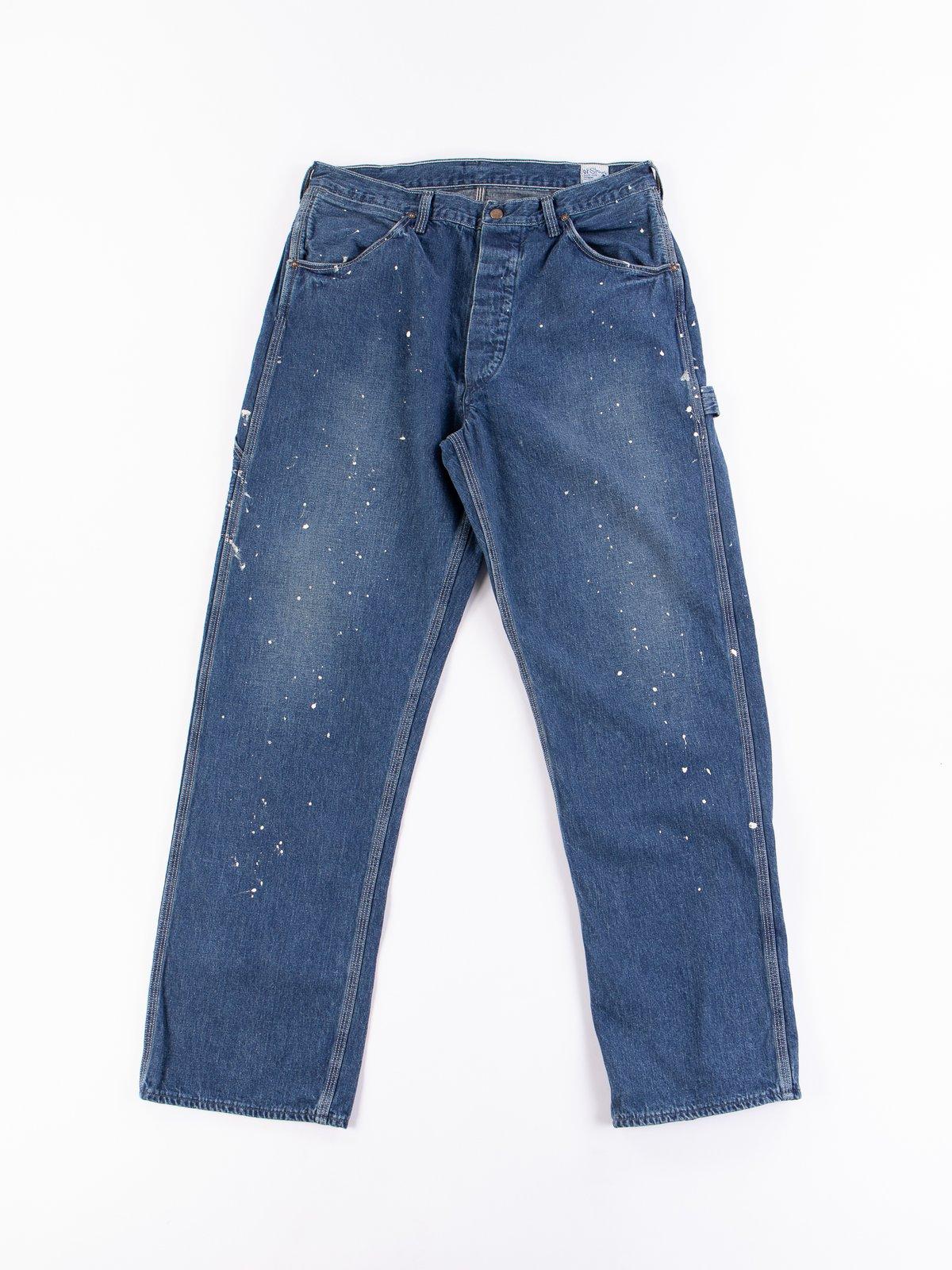 Used Wash Denim Painter Pant - Image 1