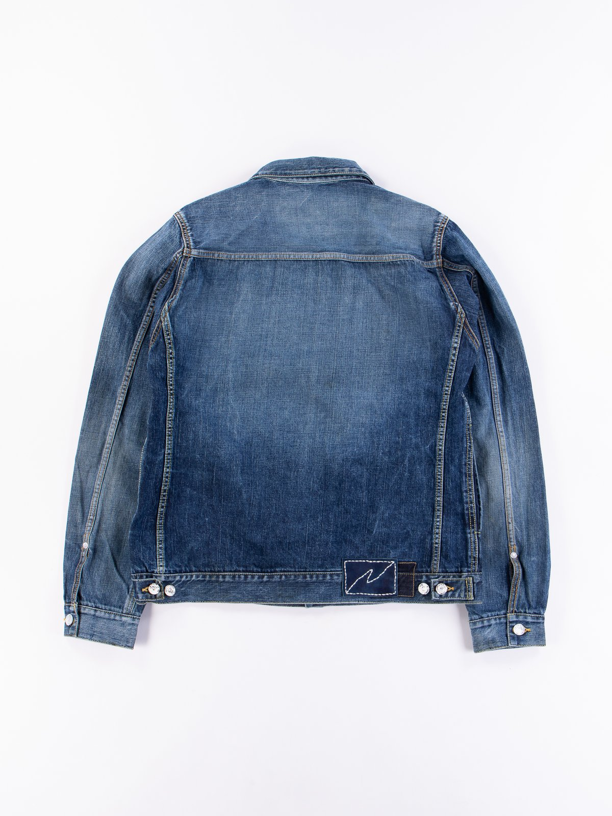 Dry Damaged SS 101 Denim Jacket - Image 7