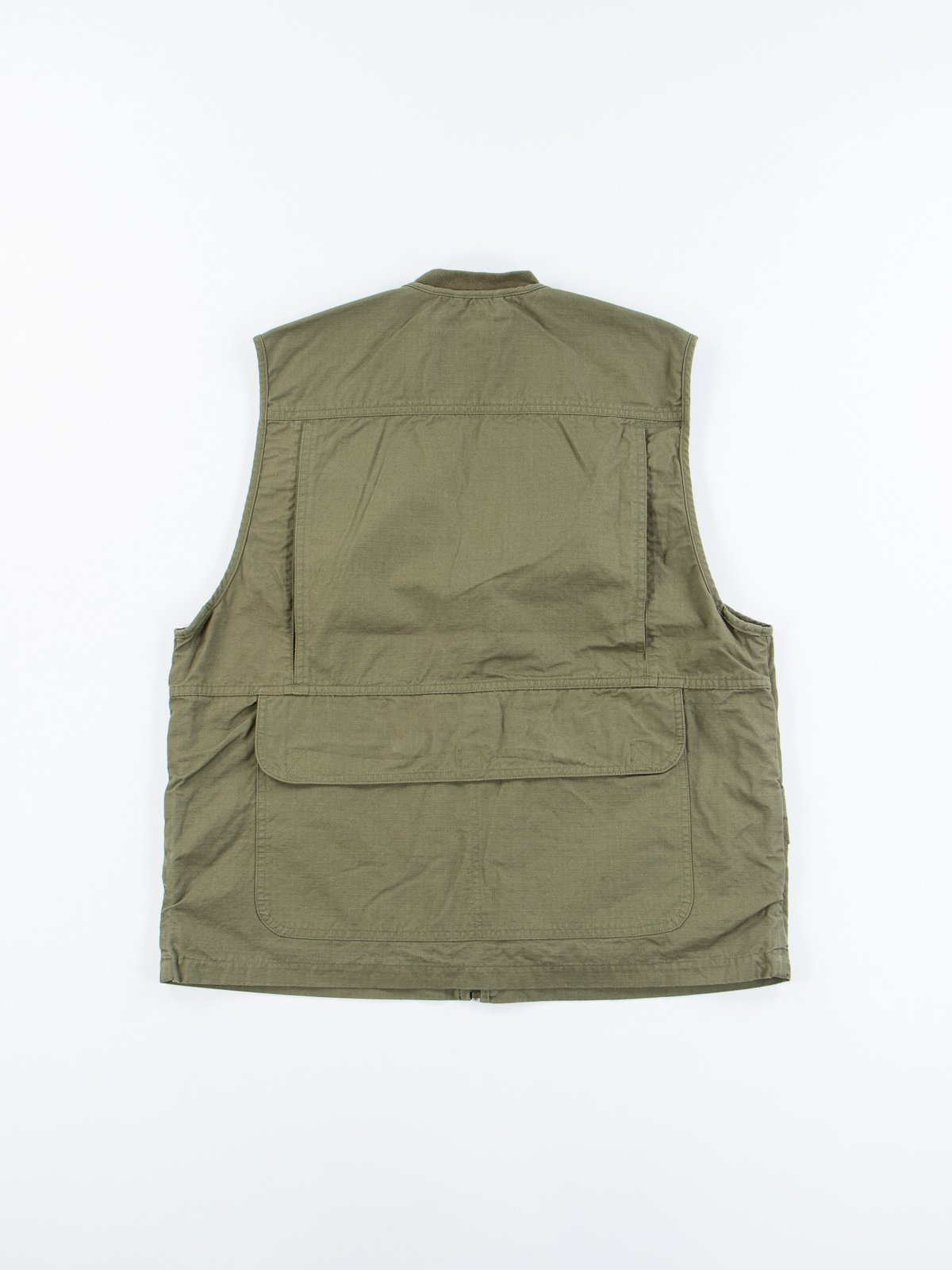 Green Ripstop Utility Vest - Image 7