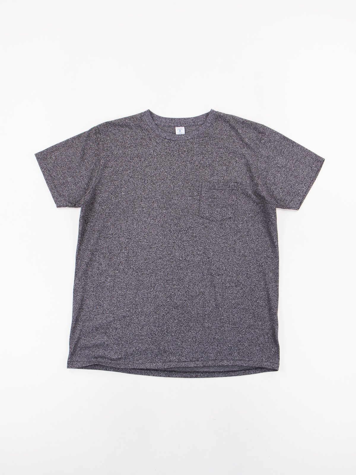 Heather Black 1–Pac Pocket Tee - Image 2