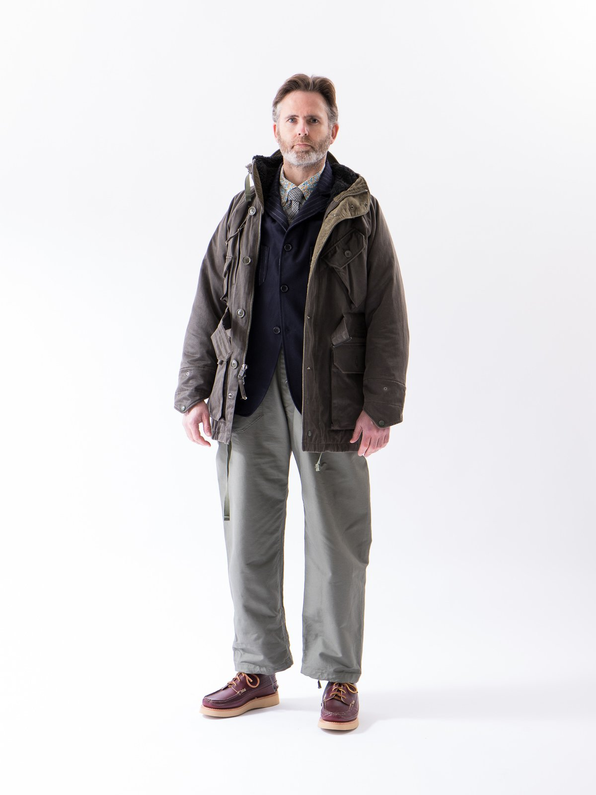 Olive Cotton Double Cloth Waders - Image 3