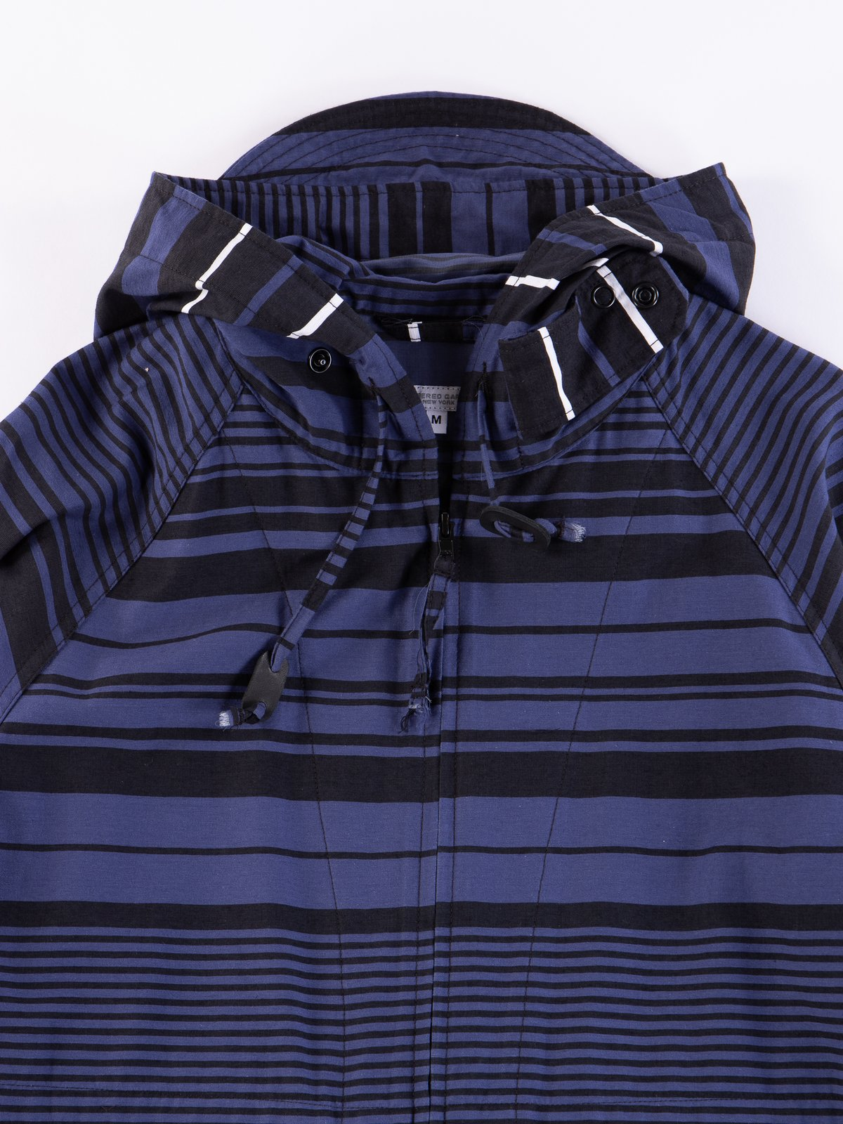 Navy Horizontal Stripe Activecloth Atlantic Parka - Image 4