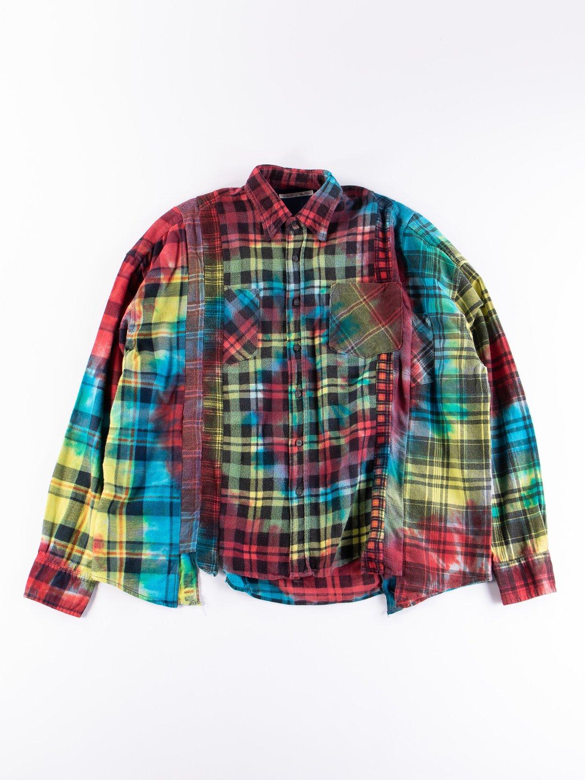 Tie Dye Assorted 7 Cuts Rebuild Shirt - Image 1