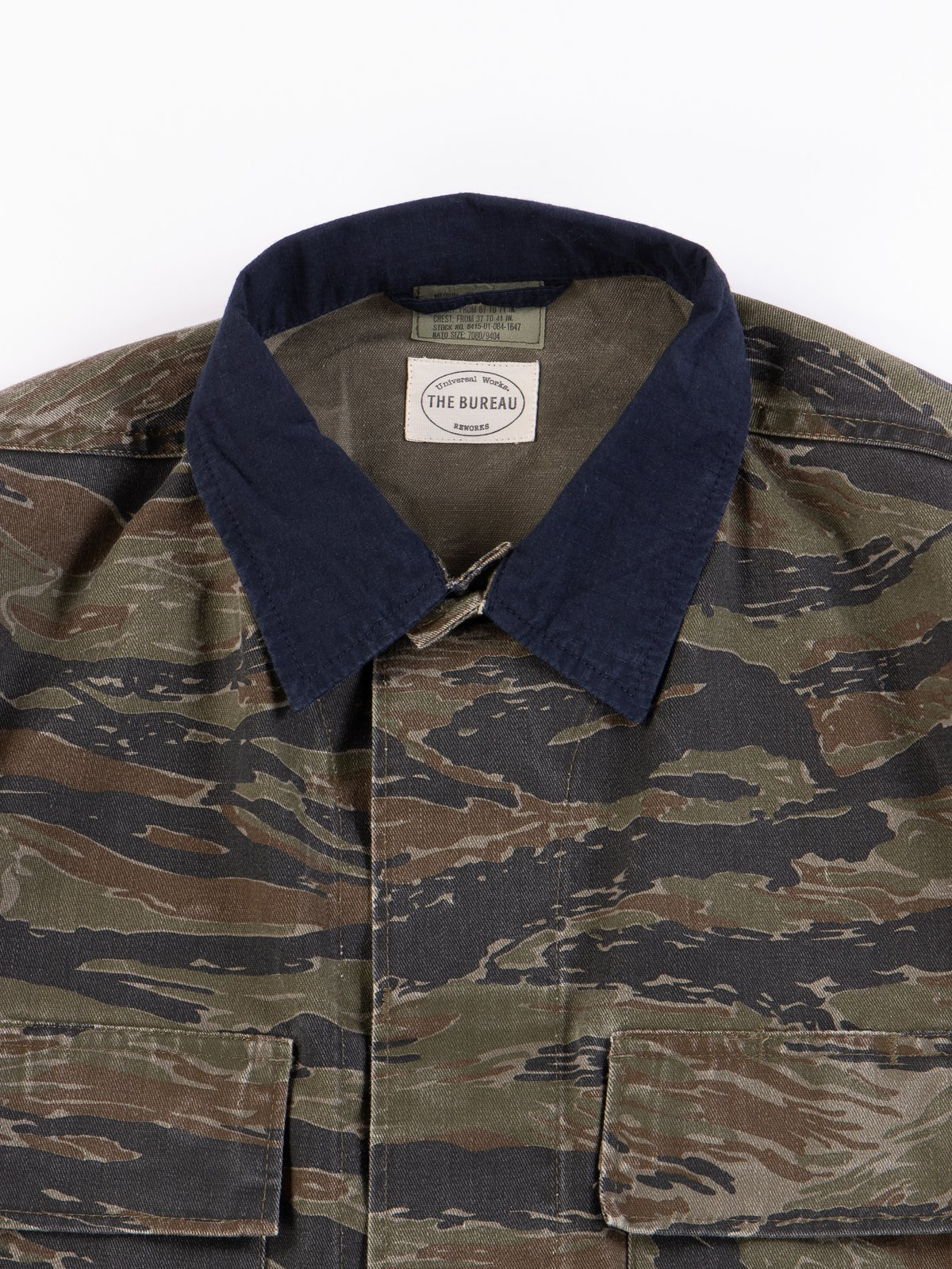 Reworks Camo/Navy Field Jacket - Image 2