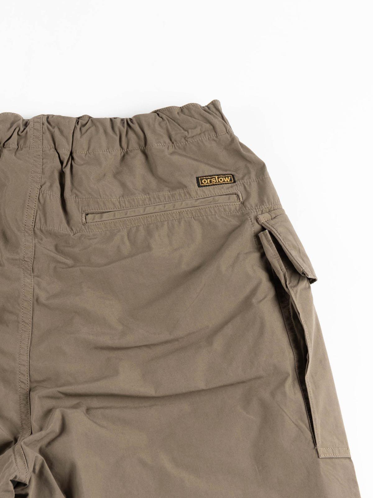 EASY CARGO SHORTS GREIGE TYPEWRITER CLOTH - Image 4