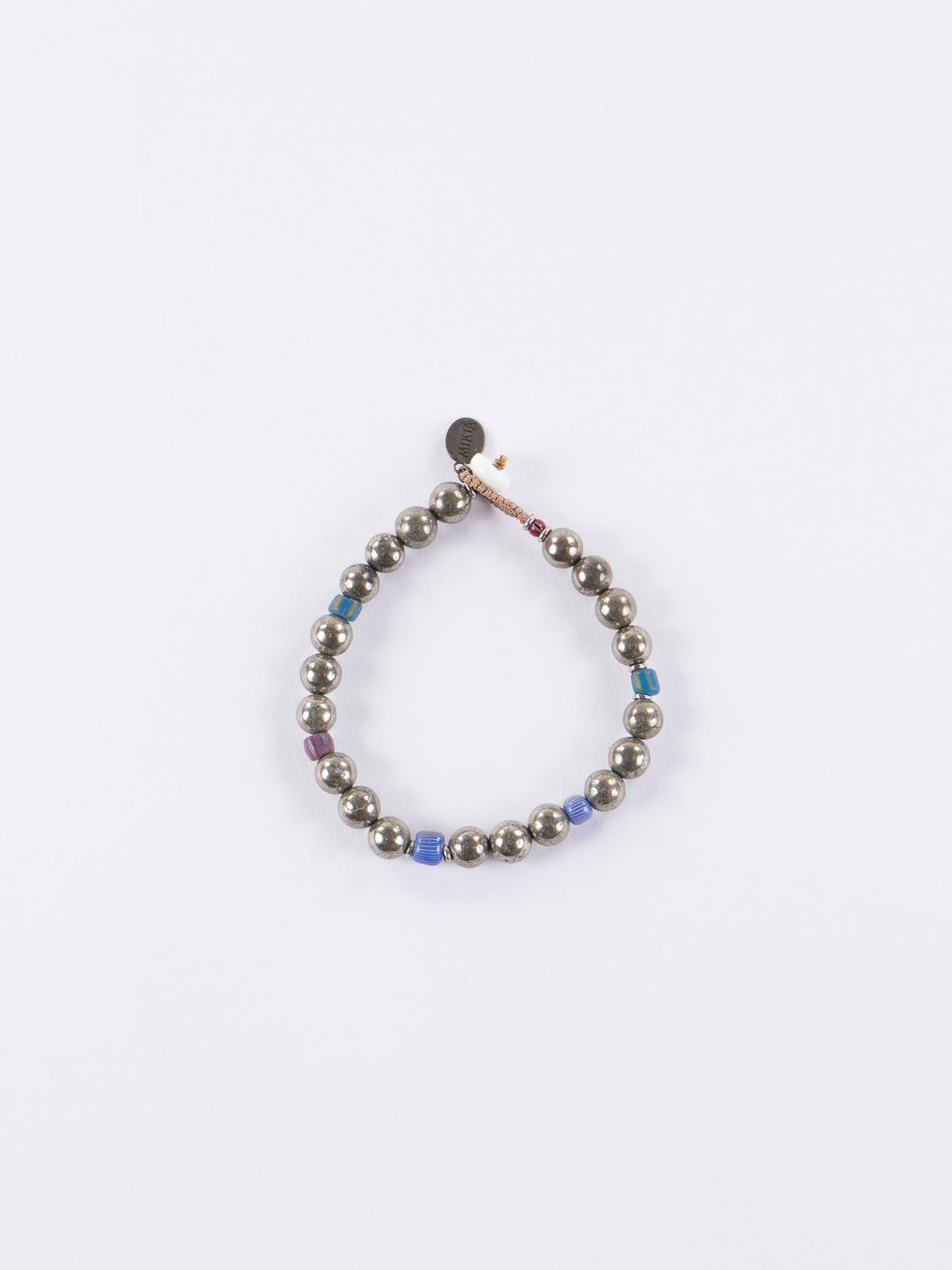 Golden Pyrite 8mm Bracelet - Image 1