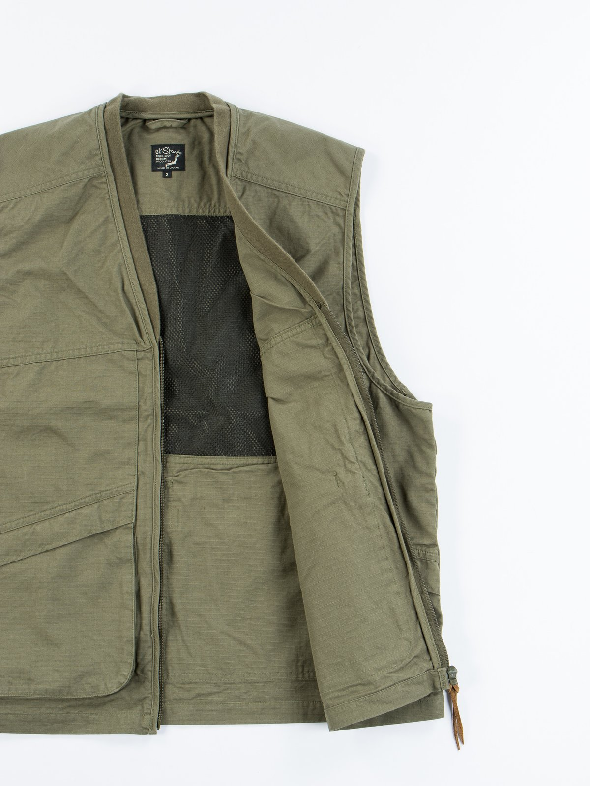 Green Ripstop Utility Vest - Image 6
