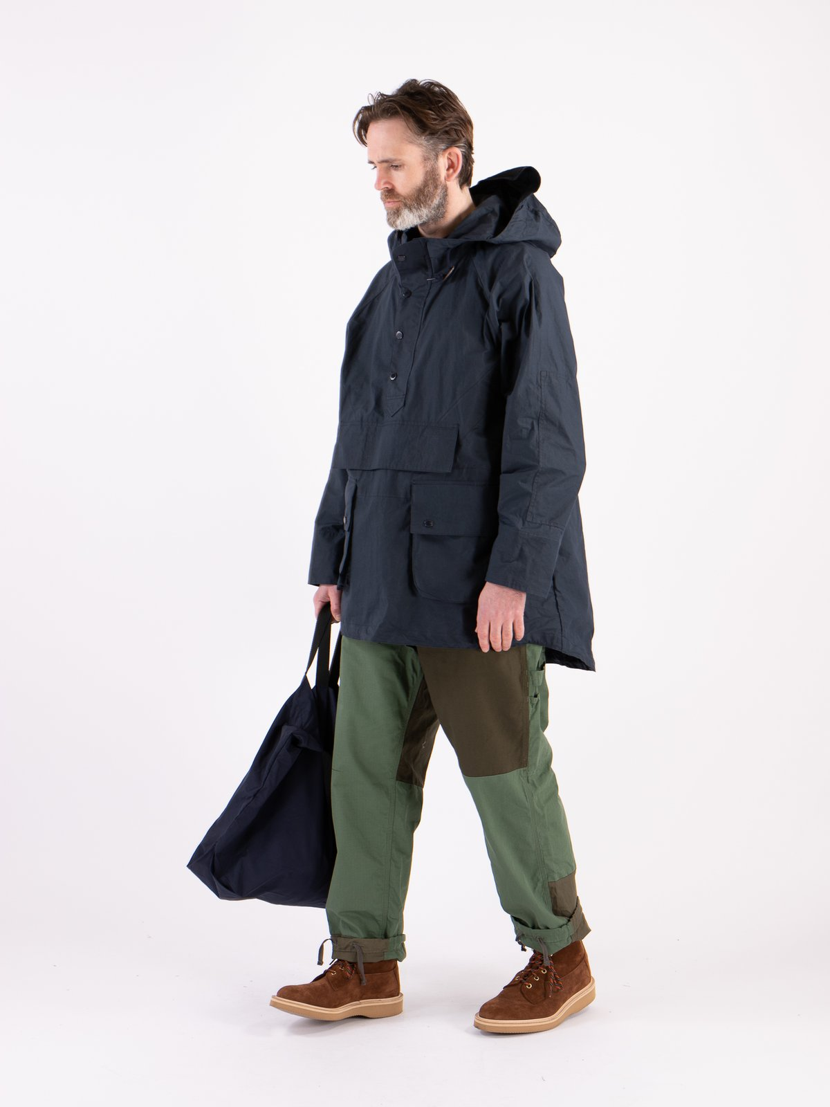 Navy Warby Jacket - Image 2