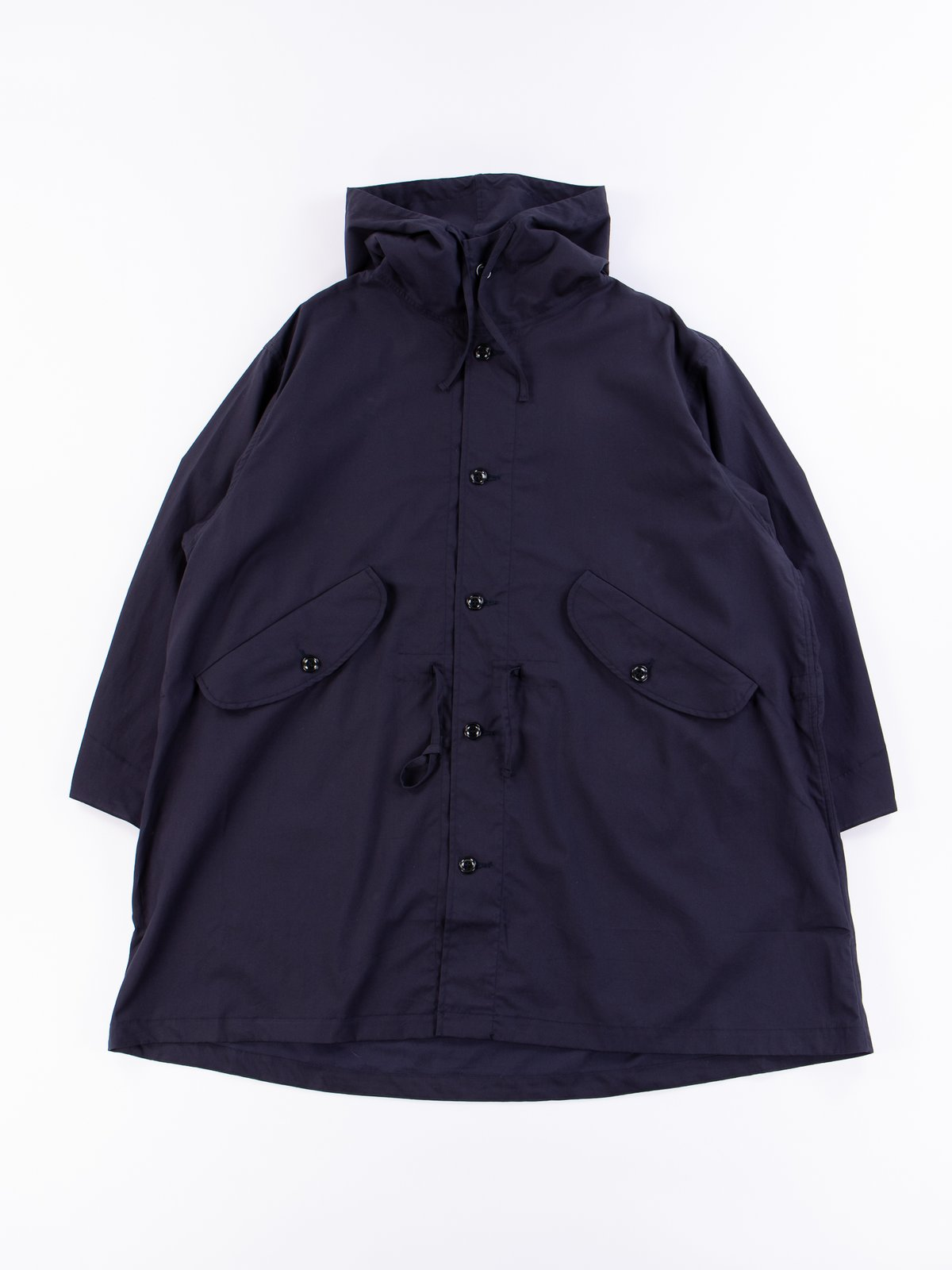 Navy Oxford Vancloth Czech Coat - Image 1