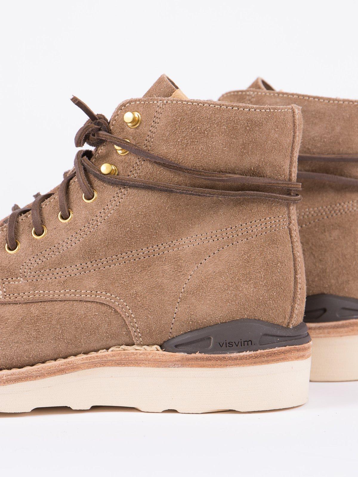 Sand Veg Suede Virgil Boots–Folk - Image 3