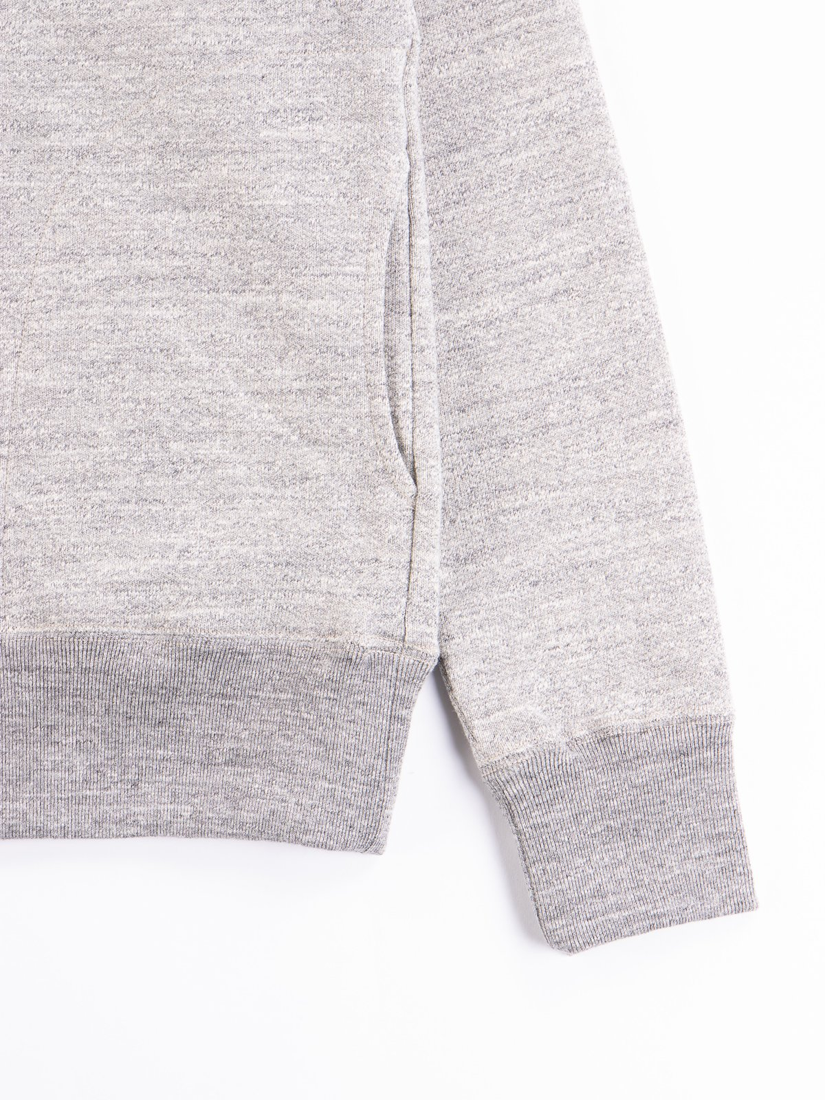 Heather Grey GG Sweat Pullover Parka - Image 4
