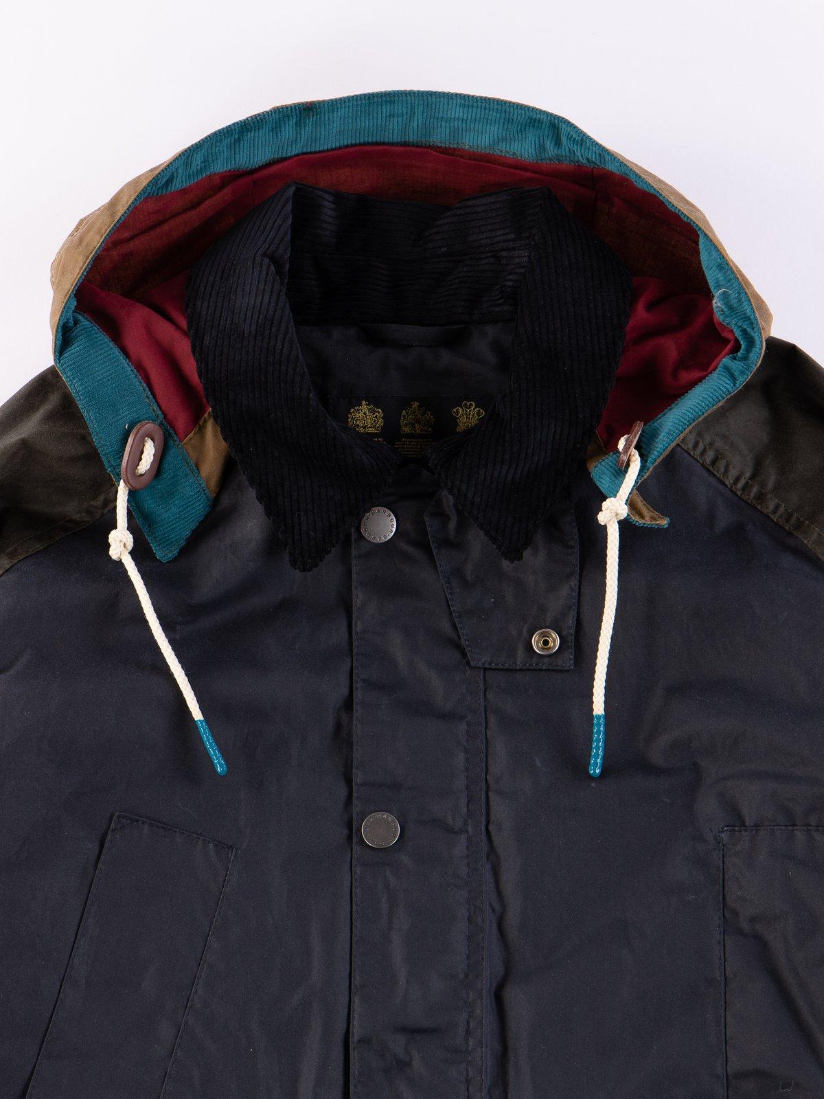 Multi Pitt Wax Jacket - Image 3