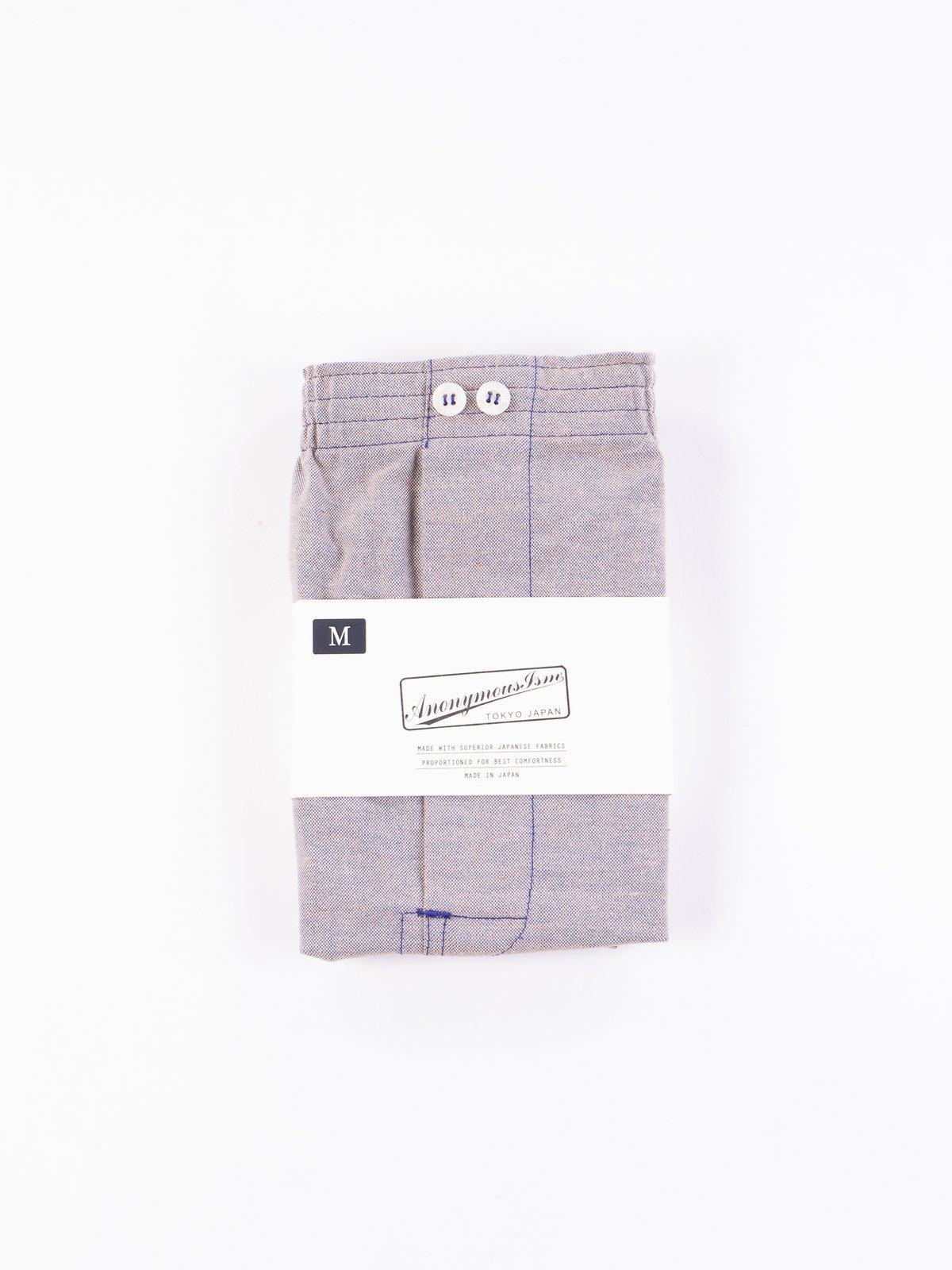 Purple Oxford Vintage Boxer Short - Image 1