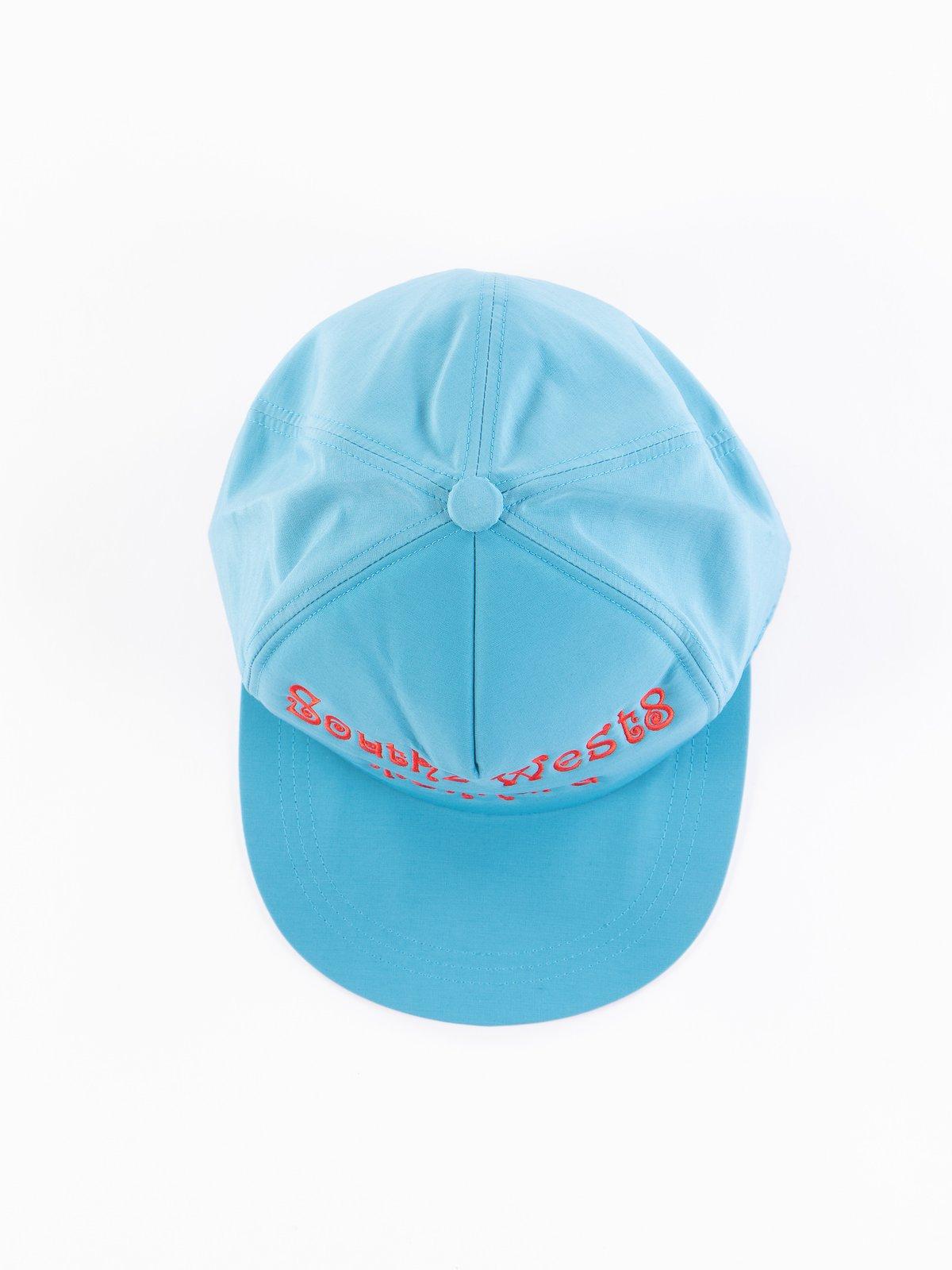 Turquoise Tenkara Embroidered Trucker Cap - Image 2