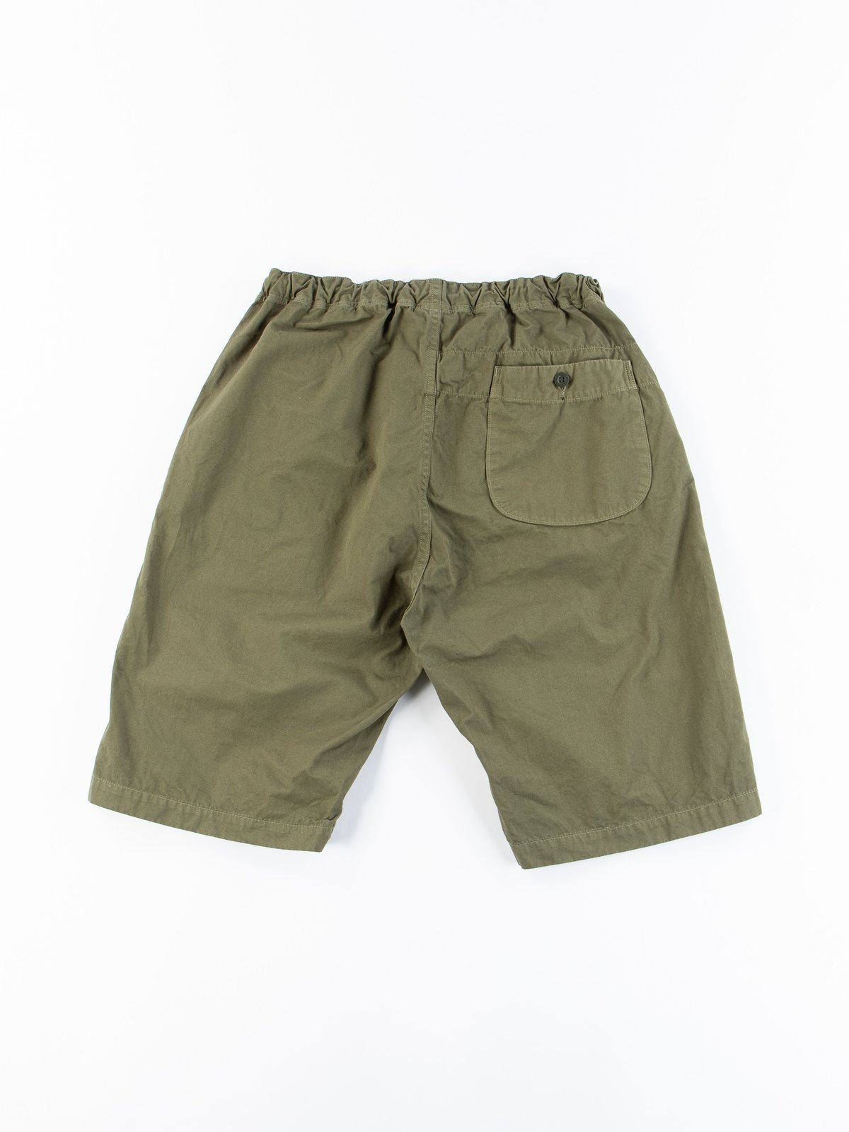 Army Overdyed Poplin TBB Mill Short - Image 5
