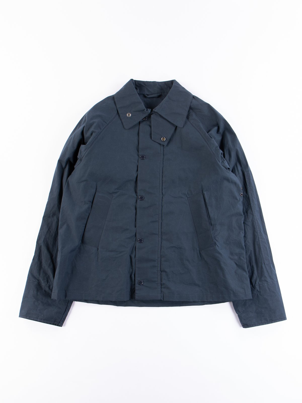 Navy Unlined Graham Jacket - Image 1