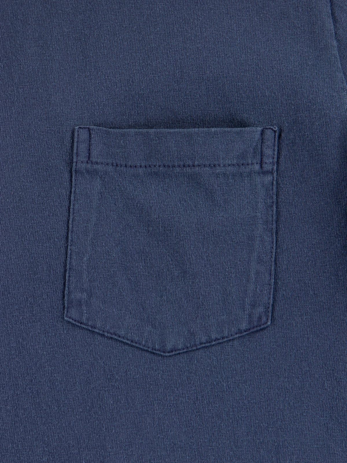 Navy Pigment Dye Pocket Tee - Image 3