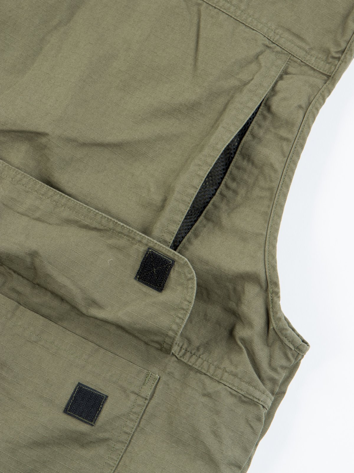 Green Ripstop Utility Vest - Image 8