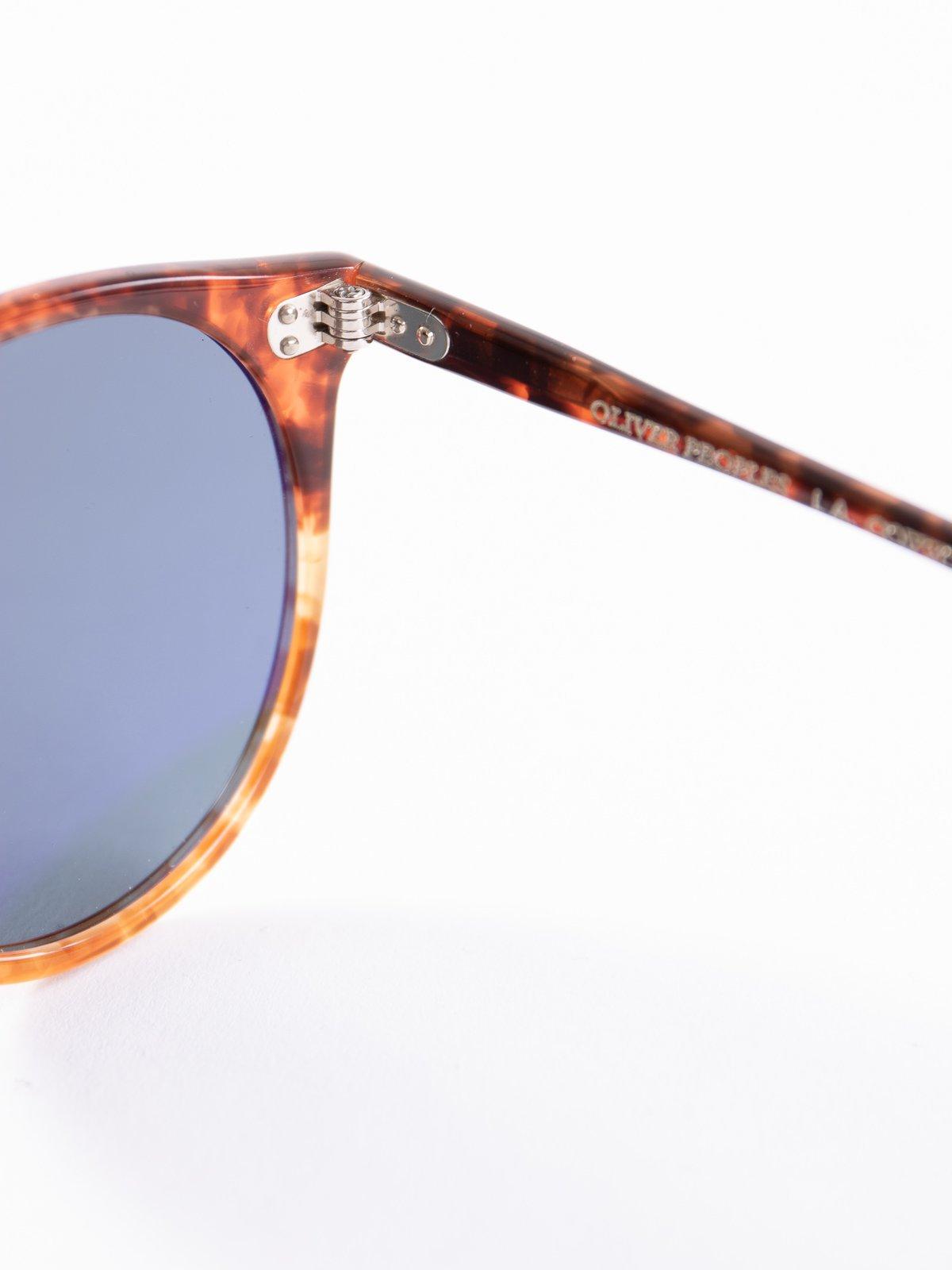Vintage 1282/Blue Photochromic O'Malley Sunglasses - Image 4