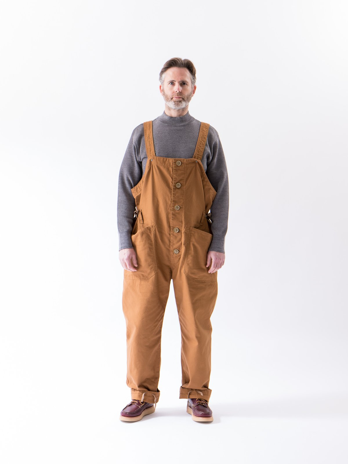 Brown 12oz Duck Canvas Waders - Image 2