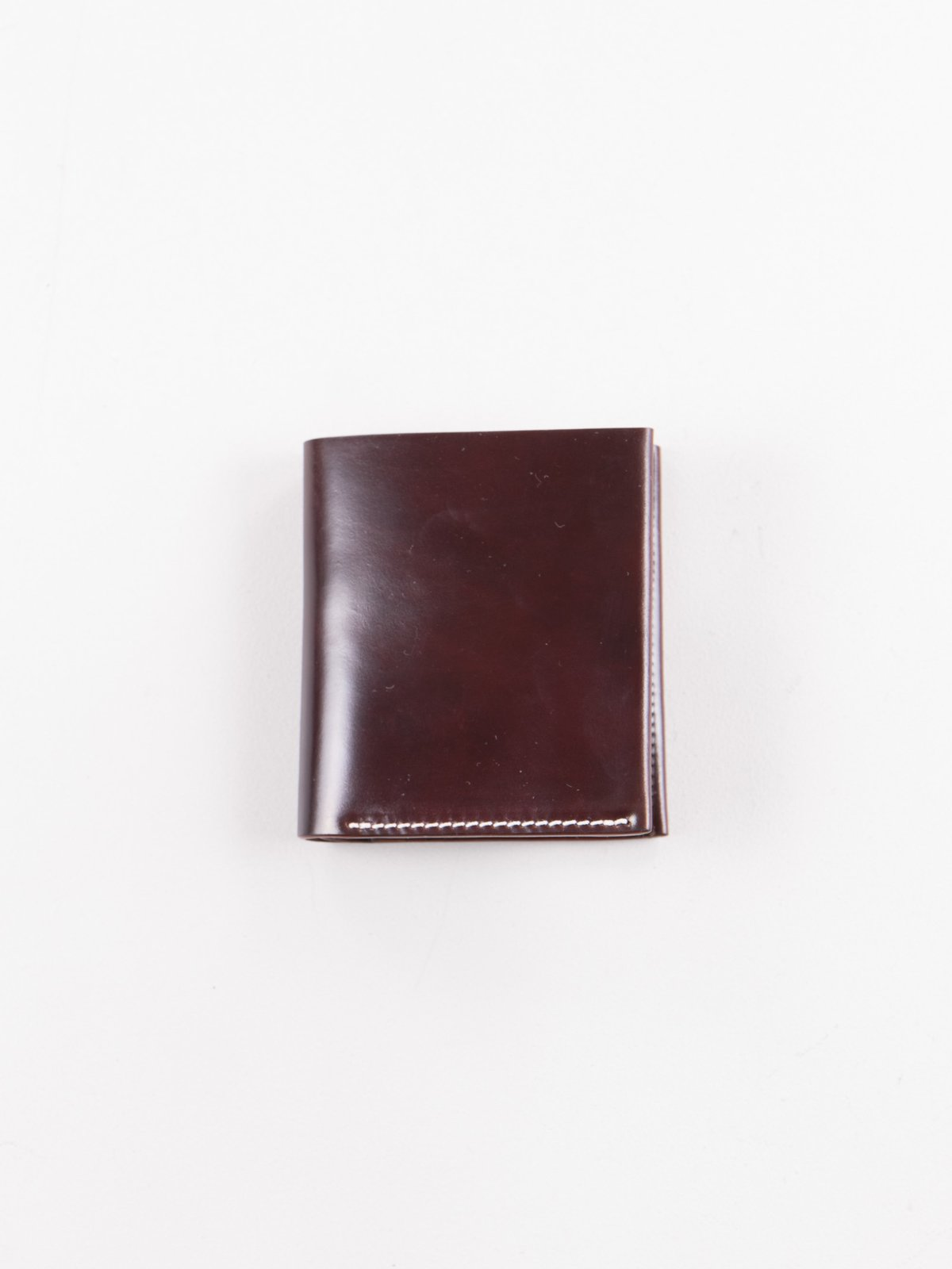 Color 8 Horween Cordovan 2–2 Wallet - Image 1