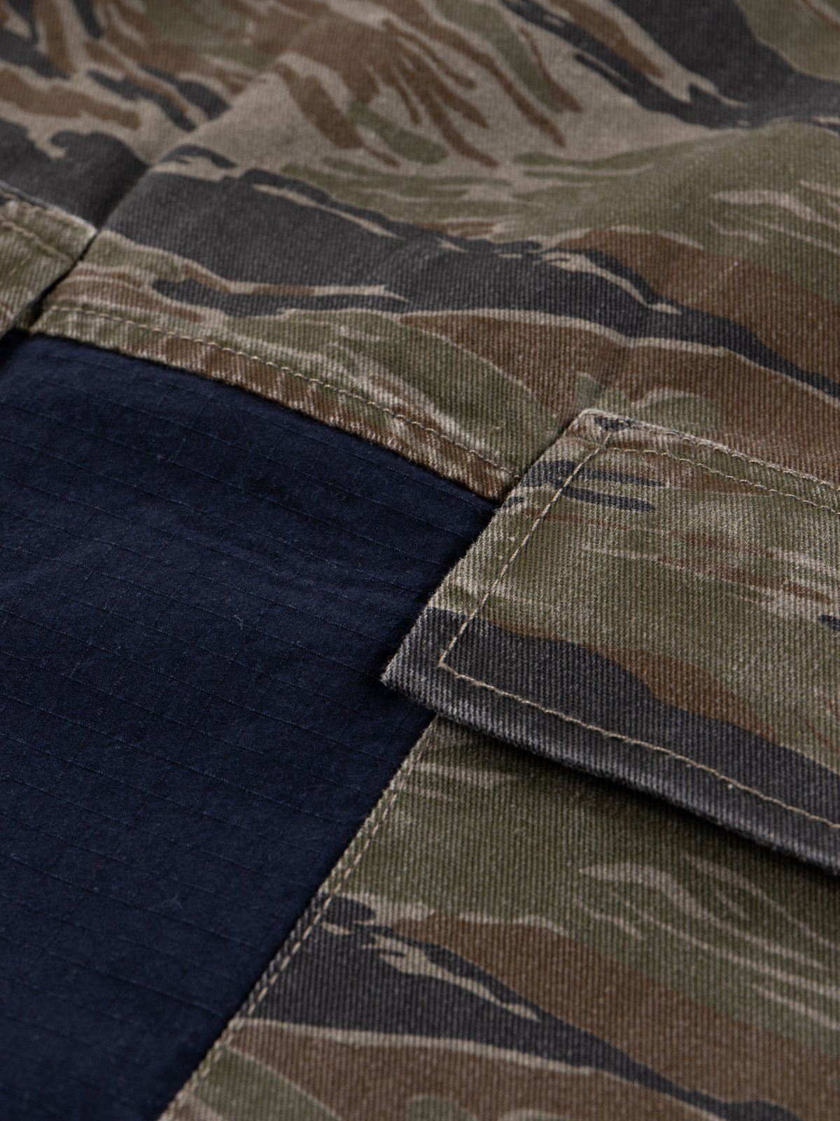 Reworks Camo/Navy Field Jacket - Image 8