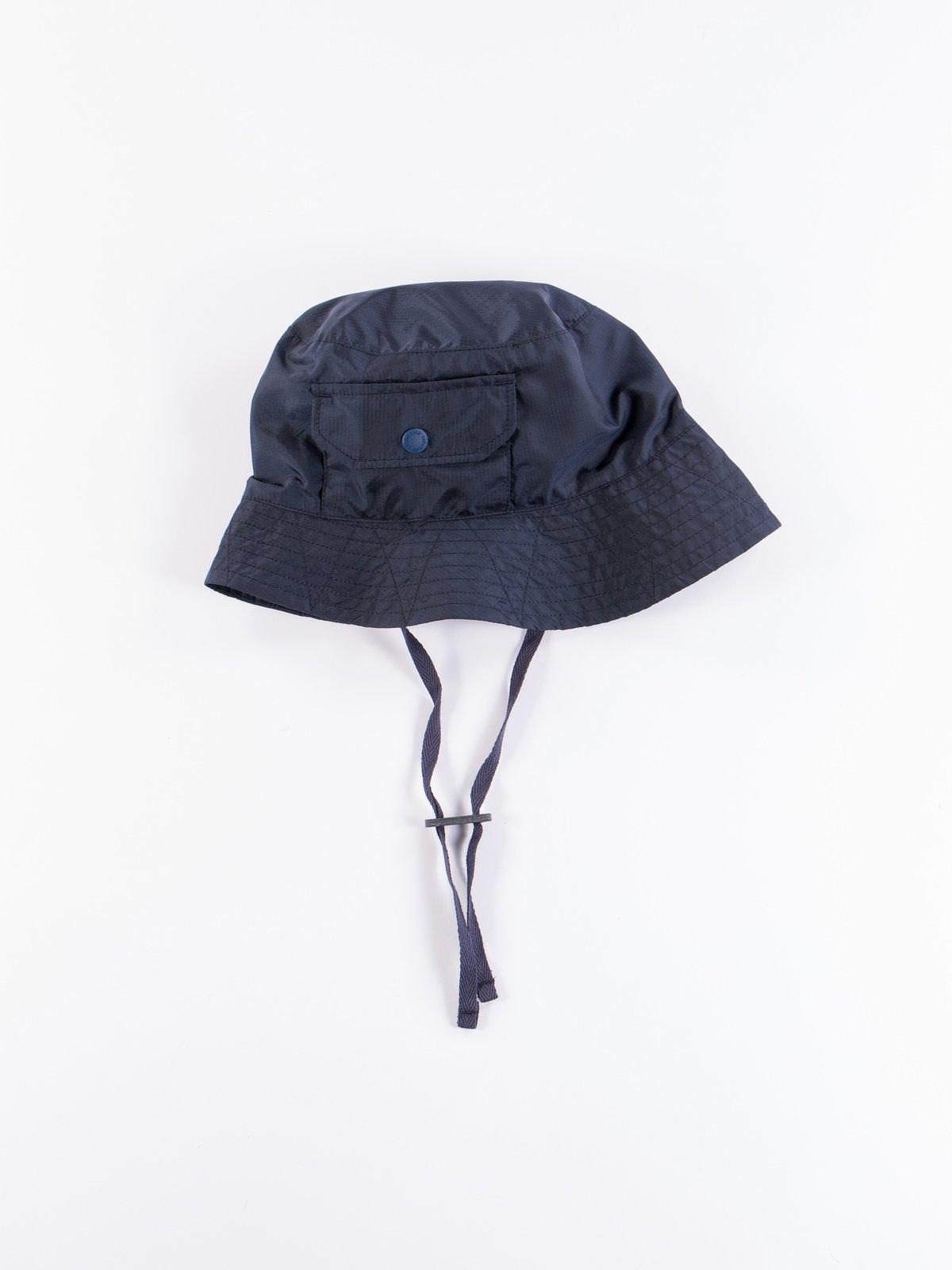 Navy Nylon Micro Ripstop Explorer Hat - Image 1