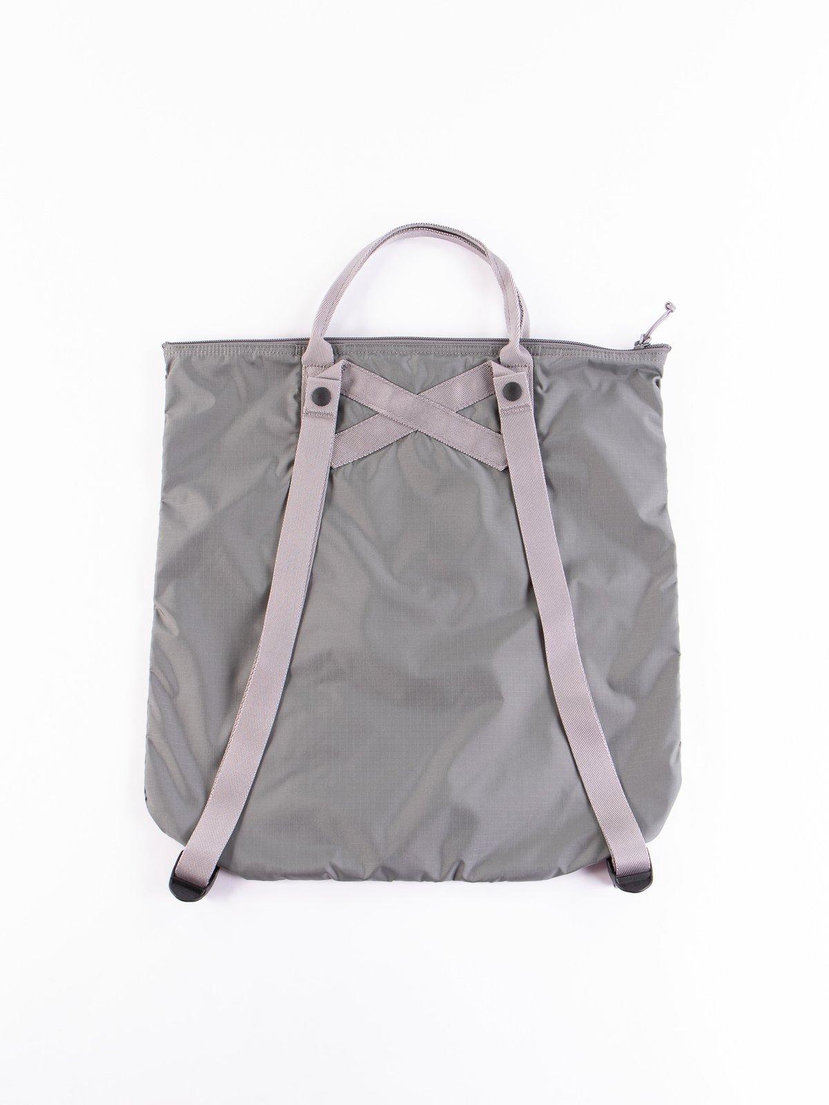 Grey Flex 2Way Tote Bag - Image 4
