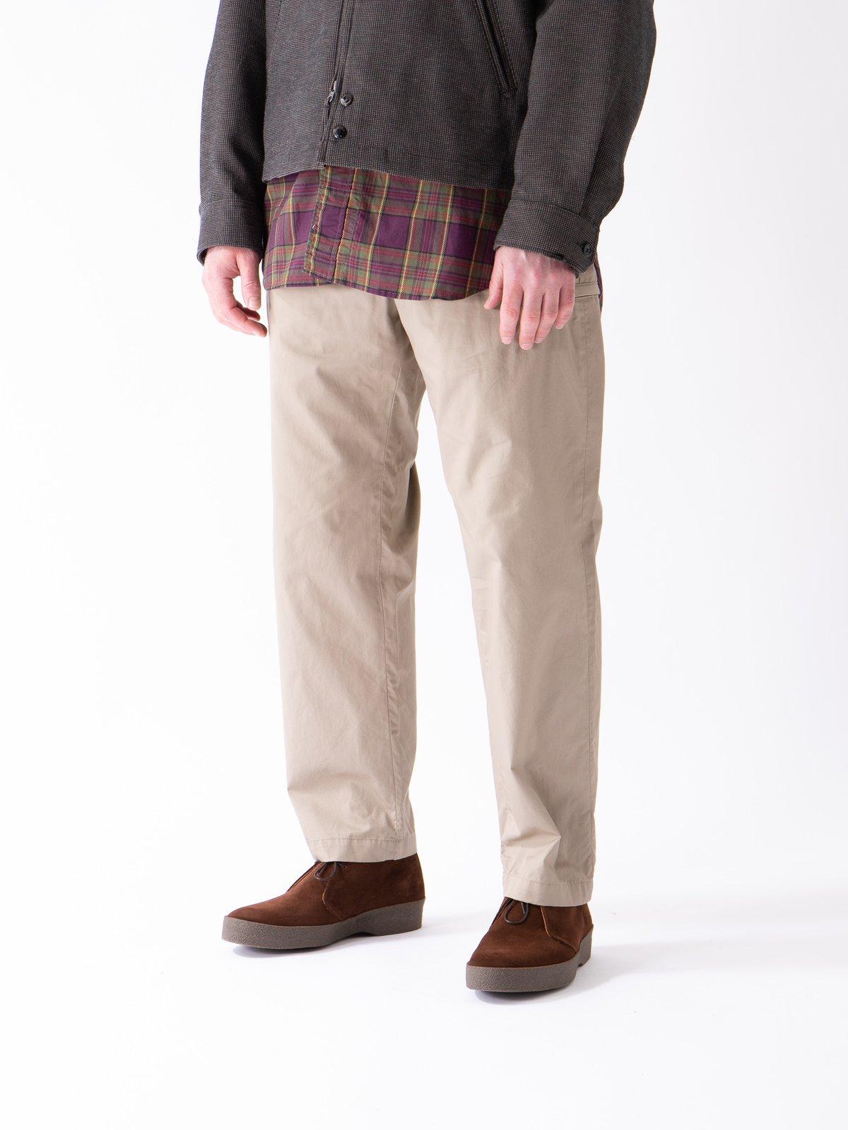 Khaki Highcount Twill Drawstring Pant - Image 2