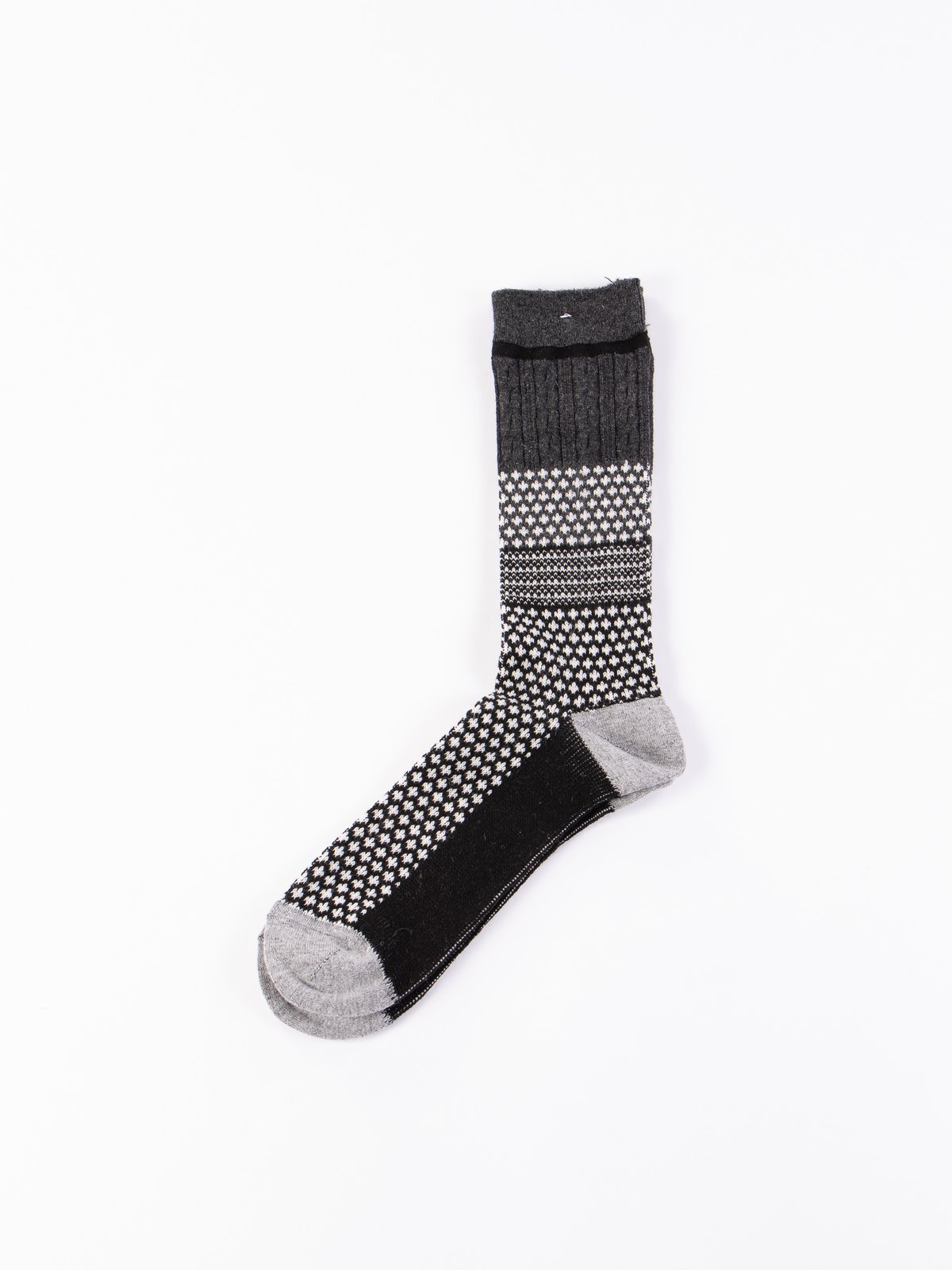 Black Chesnut JQ Crew Socks - Image 1
