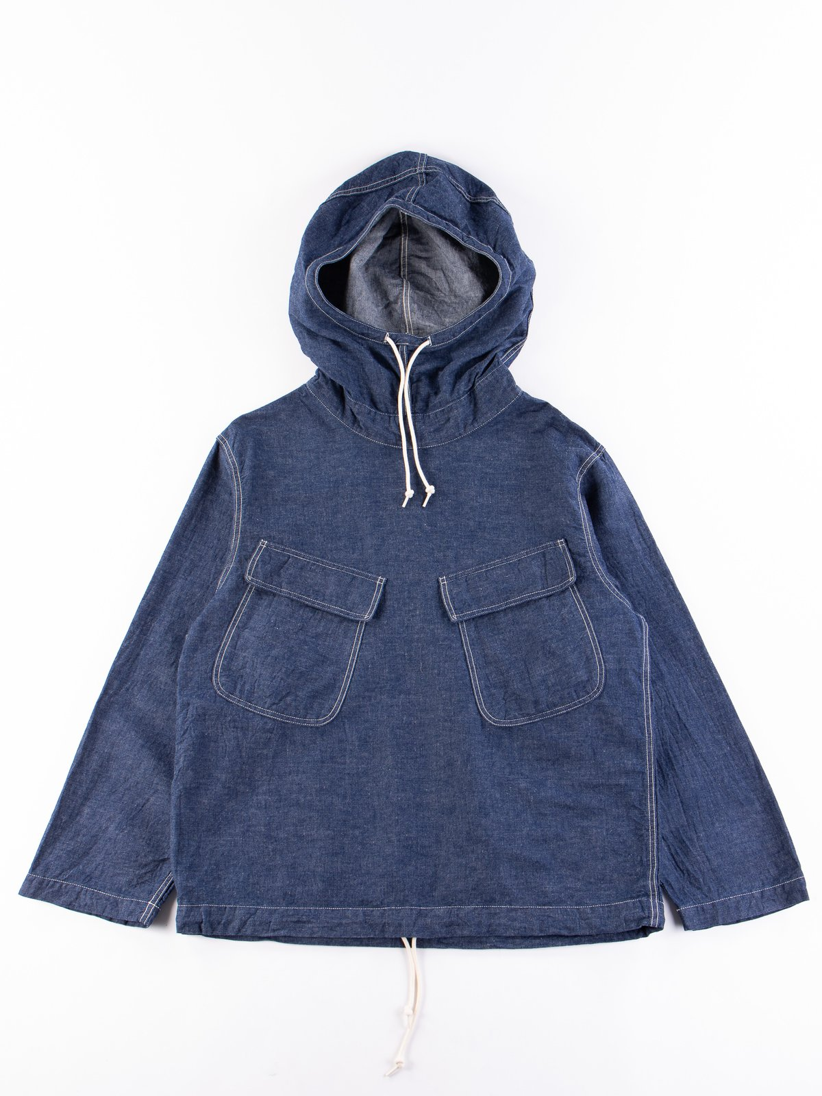 One Wash US Navy Salvage Hooded Parka - Image 1