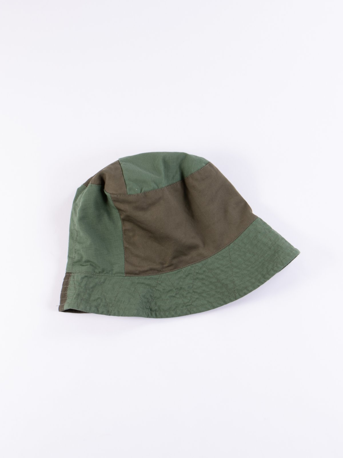 89c5953860c78 Olive Cotton Ripstop Bucket Hat by Engineered Garments – The Bureau ...