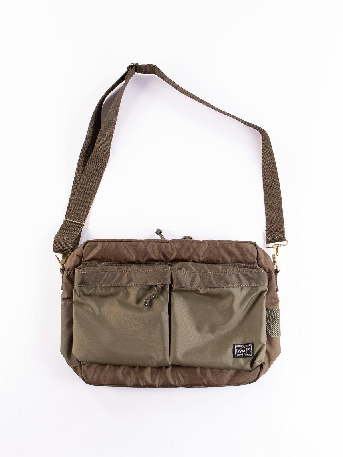 Olive Drab Medium Force Shoulder Bag - Image 1