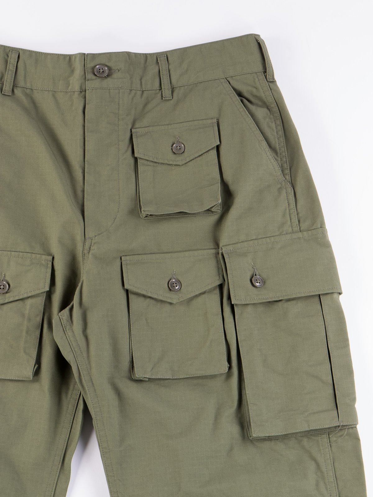 Olive Cotton Ripstop FA Pant - Image 3