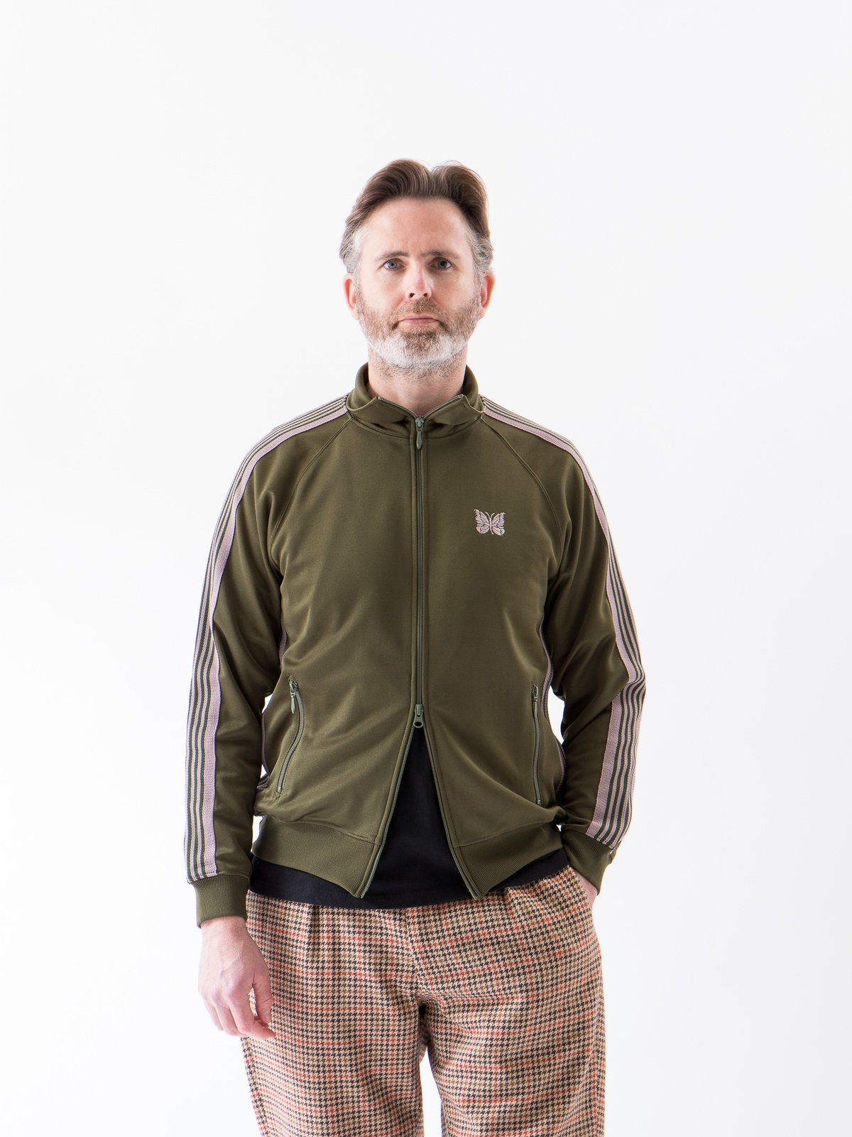 Olive Track Jacket - Image 2