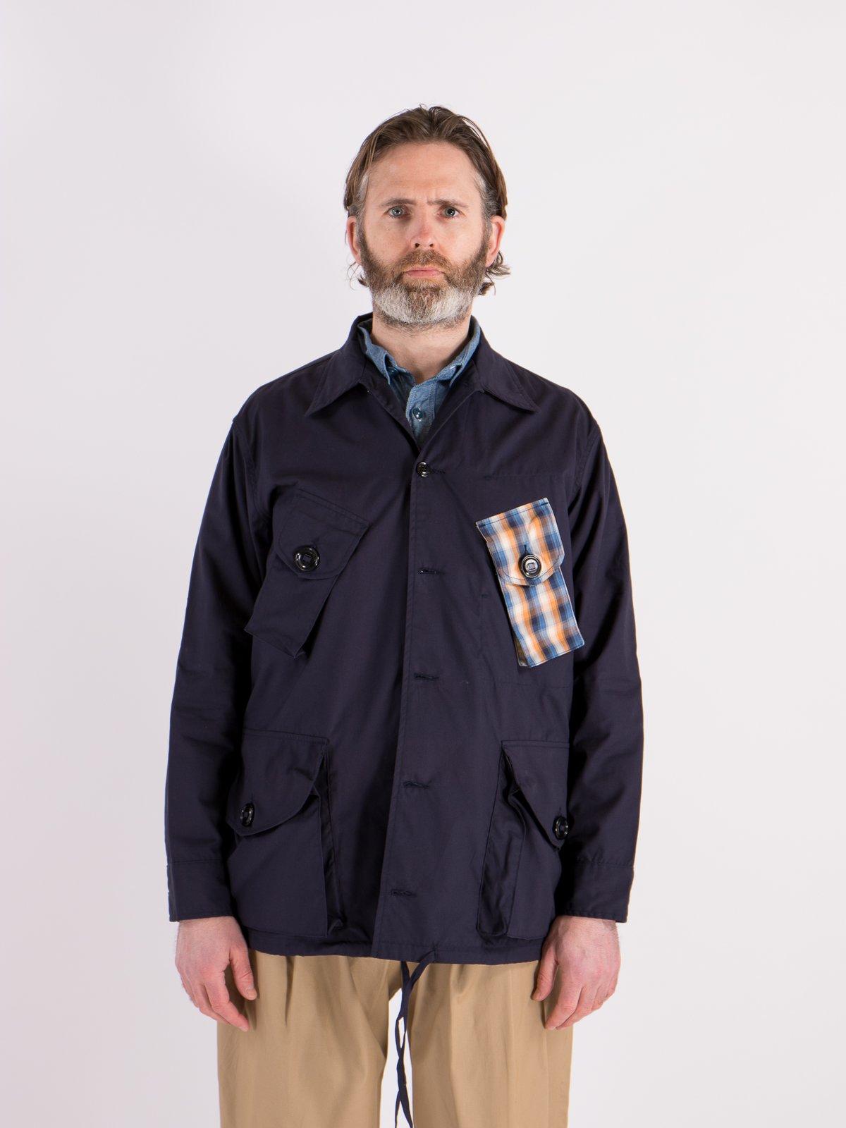 Navy Vancloth Oxford Military Half Coat Type B Exclusive - Image 2