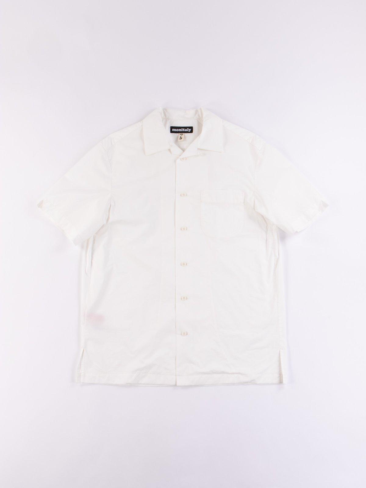 White Light Poplin Weekend Shirt - Image 1