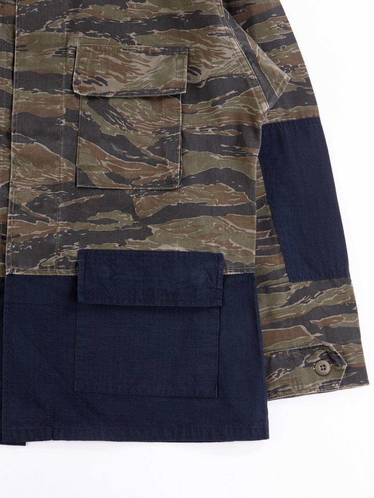 Reworks Camo/Navy Field Jacket - Image 3