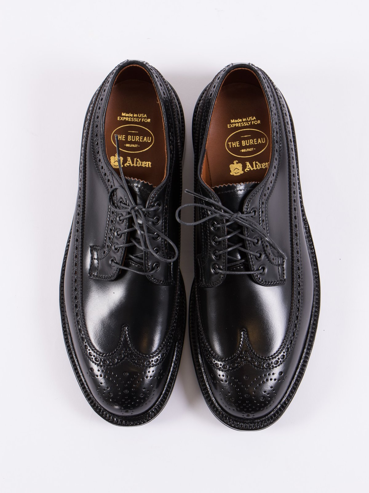 Black Cordovan Long Wing Blucher - Image 5