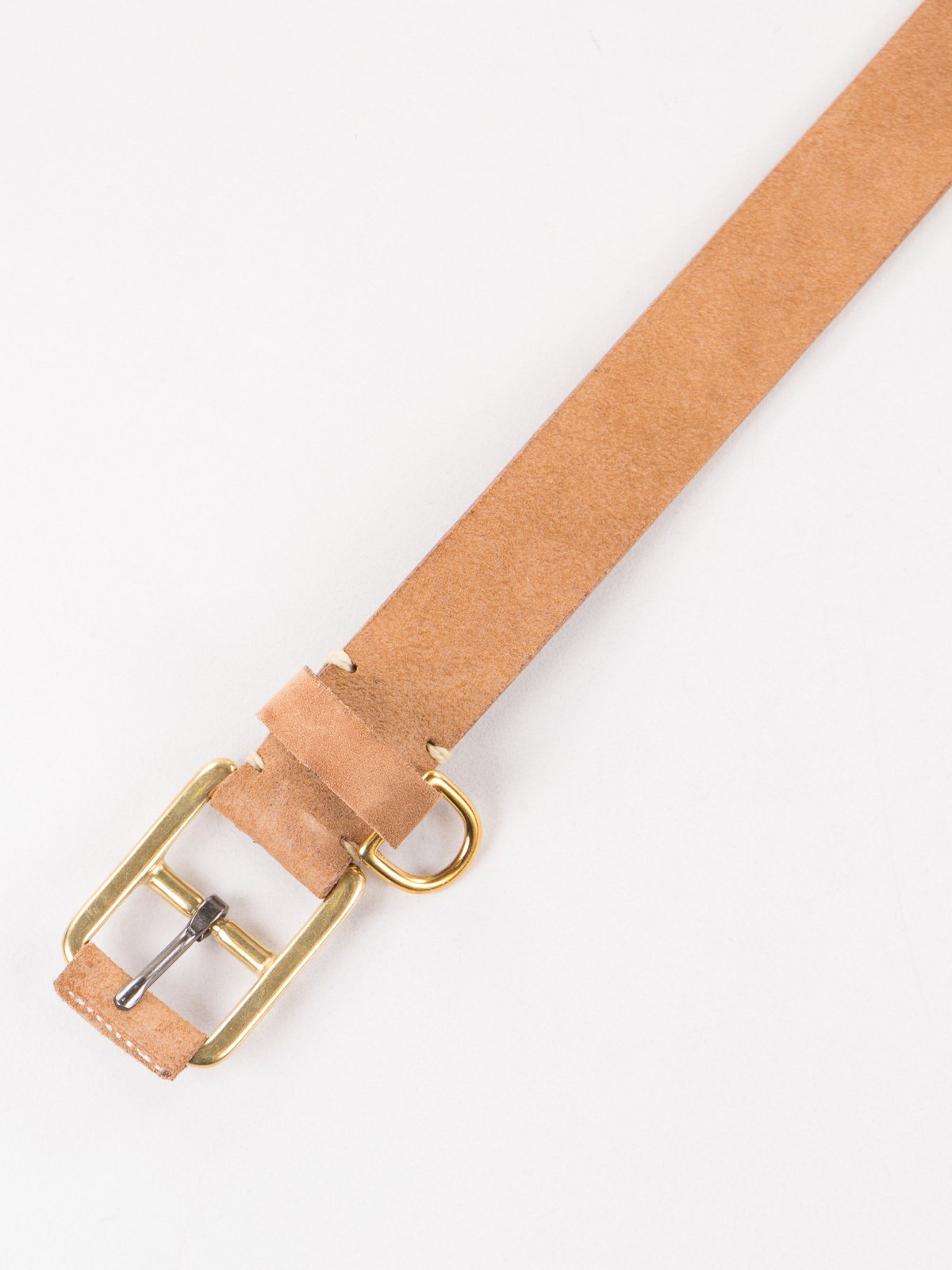 G Brown FO Stitched D–Ring Belt - Image 2
